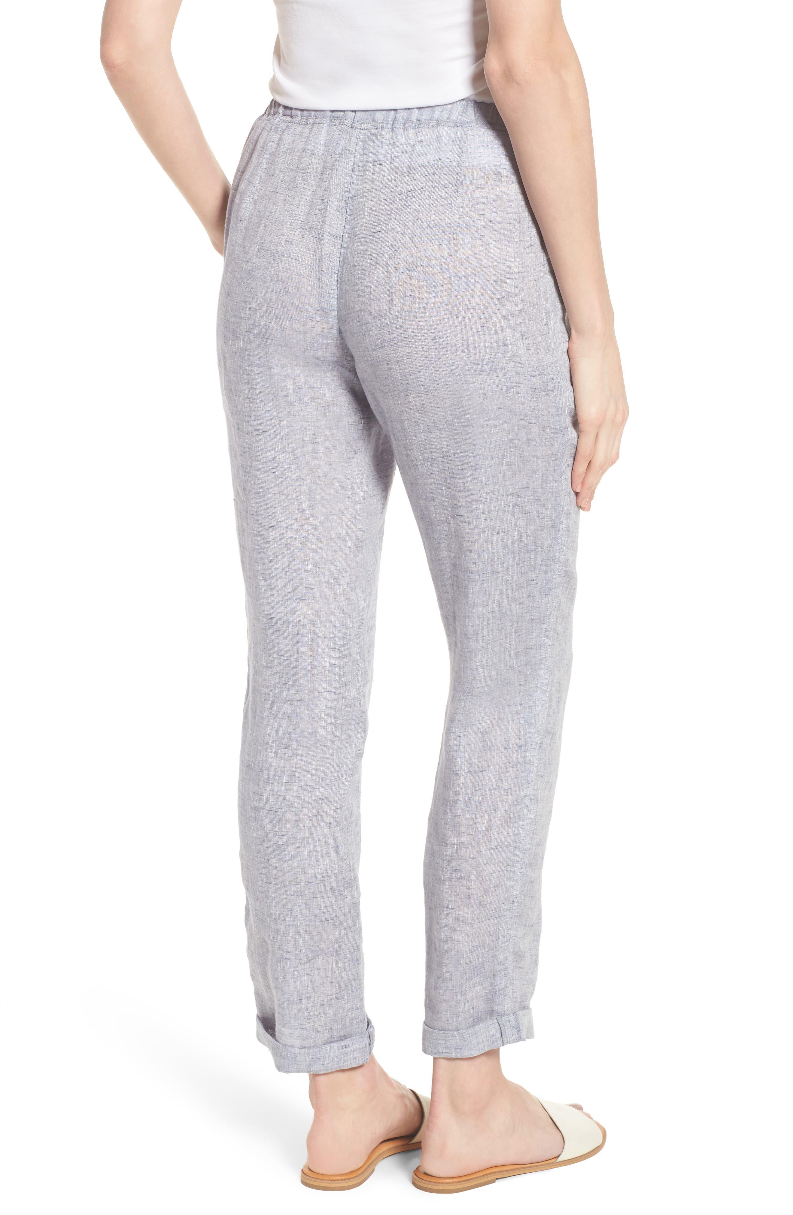 Laid Back Linen Pants,                             Alternate thumbnail 2, color,                             420