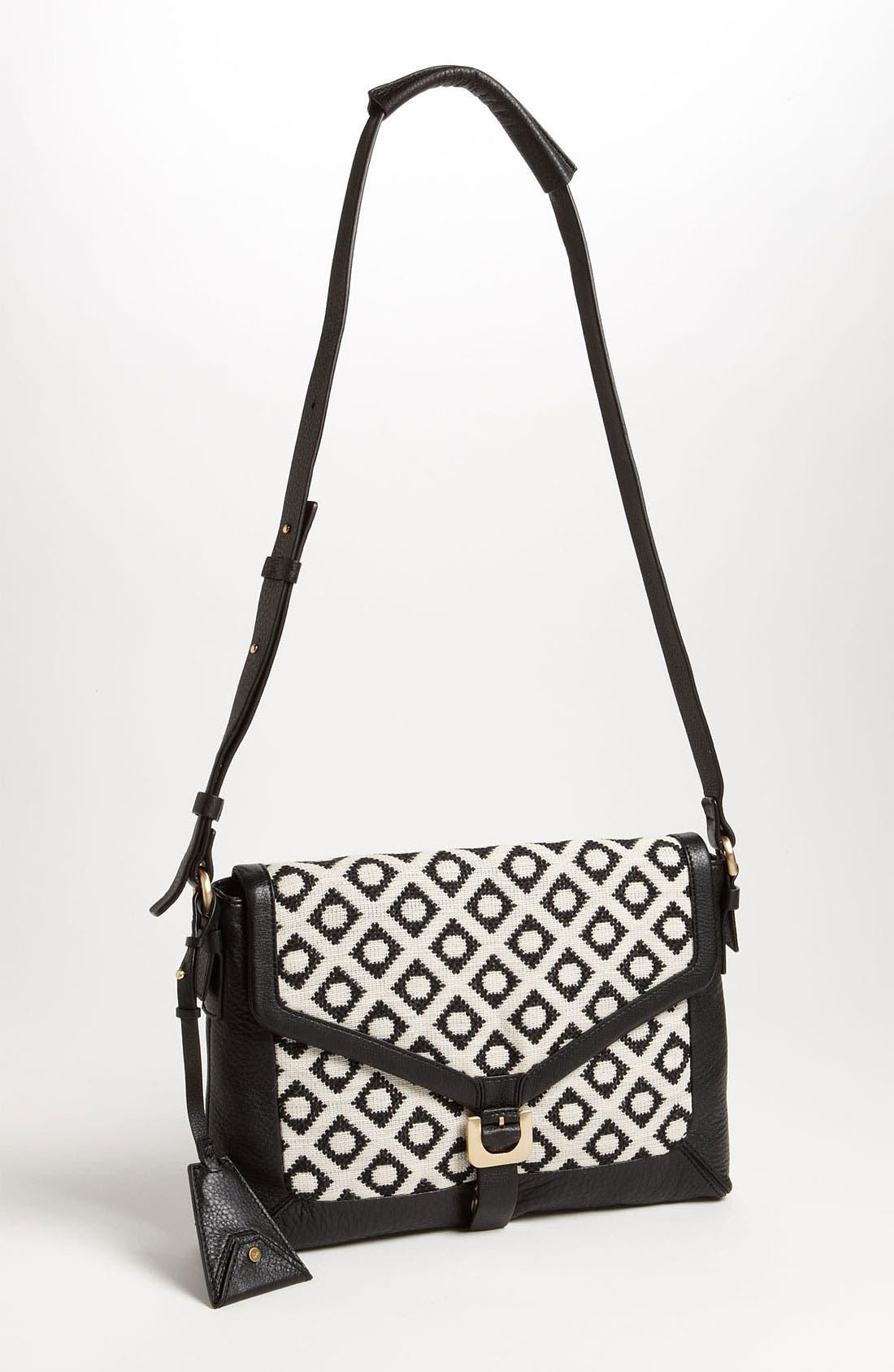 'Drew Connect - Dia Jacquard' Shoulder Bag,                             Main thumbnail 1, color,                             100