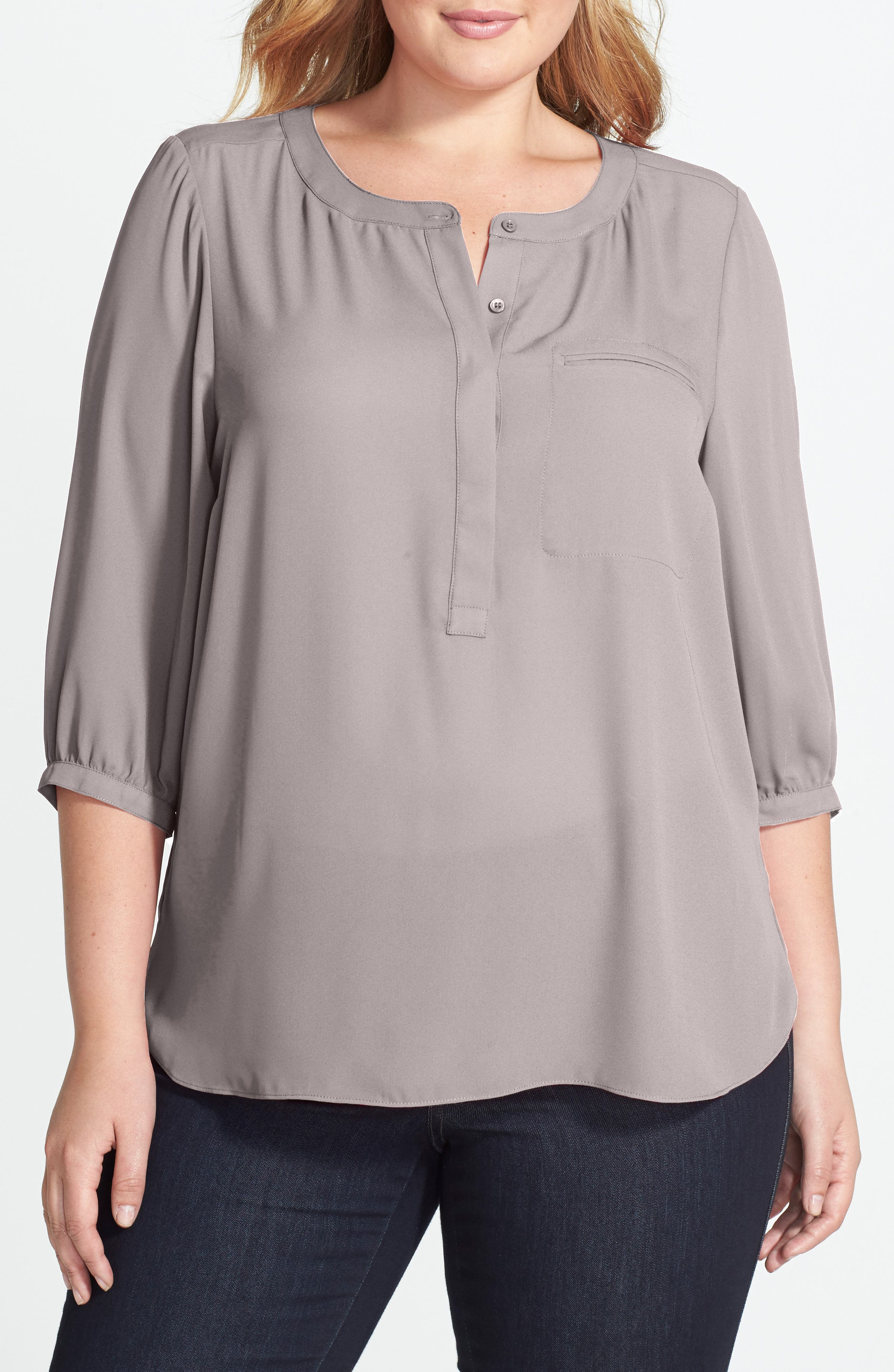 Henley Top,                             Alternate thumbnail 186, color,