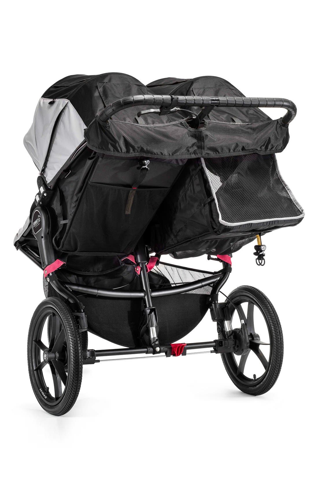 'Summit X3' Double Stroller,                             Alternate thumbnail 2, color,                             001