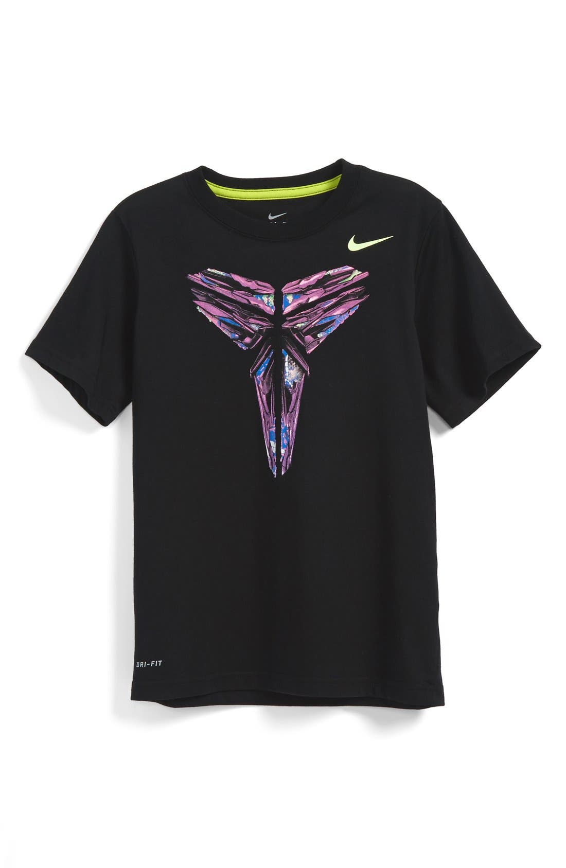 NIKE,                             'Kobe Sheath' Graphic T-Shirt,                             Main thumbnail 1, color,                             010
