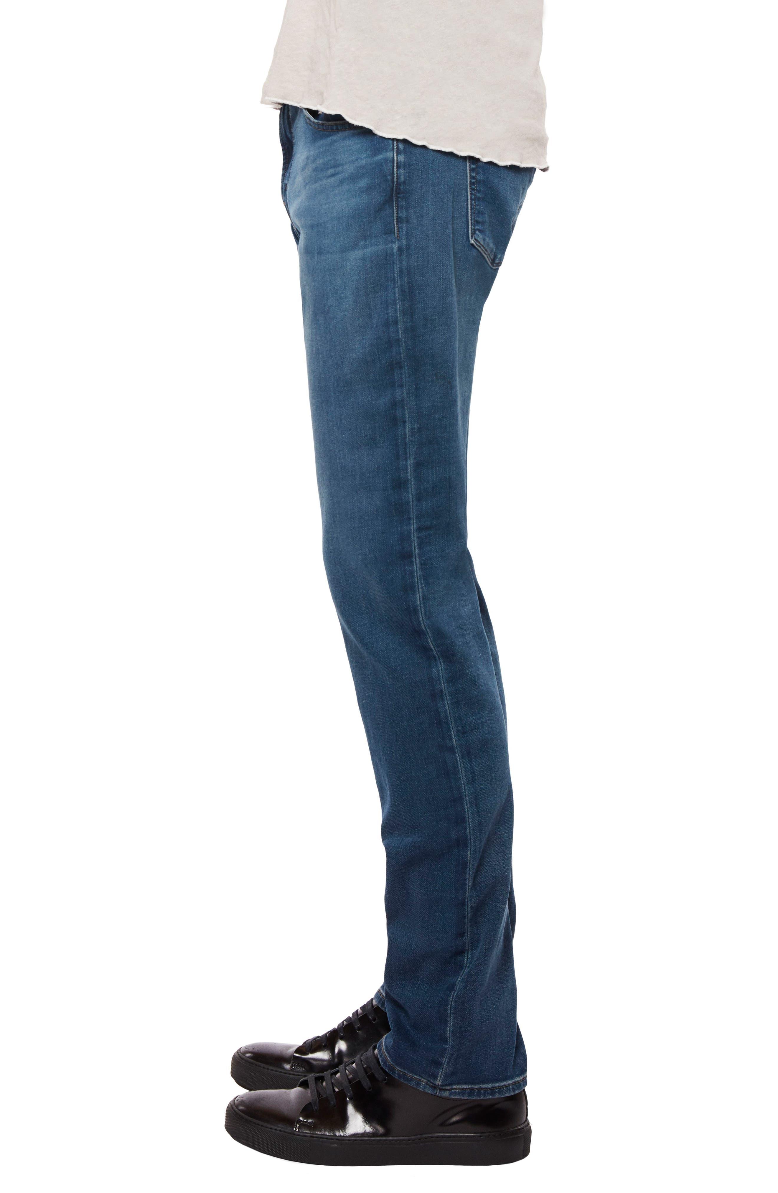 Kane Slim Straight Leg Jeans,                             Alternate thumbnail 3, color,                             454