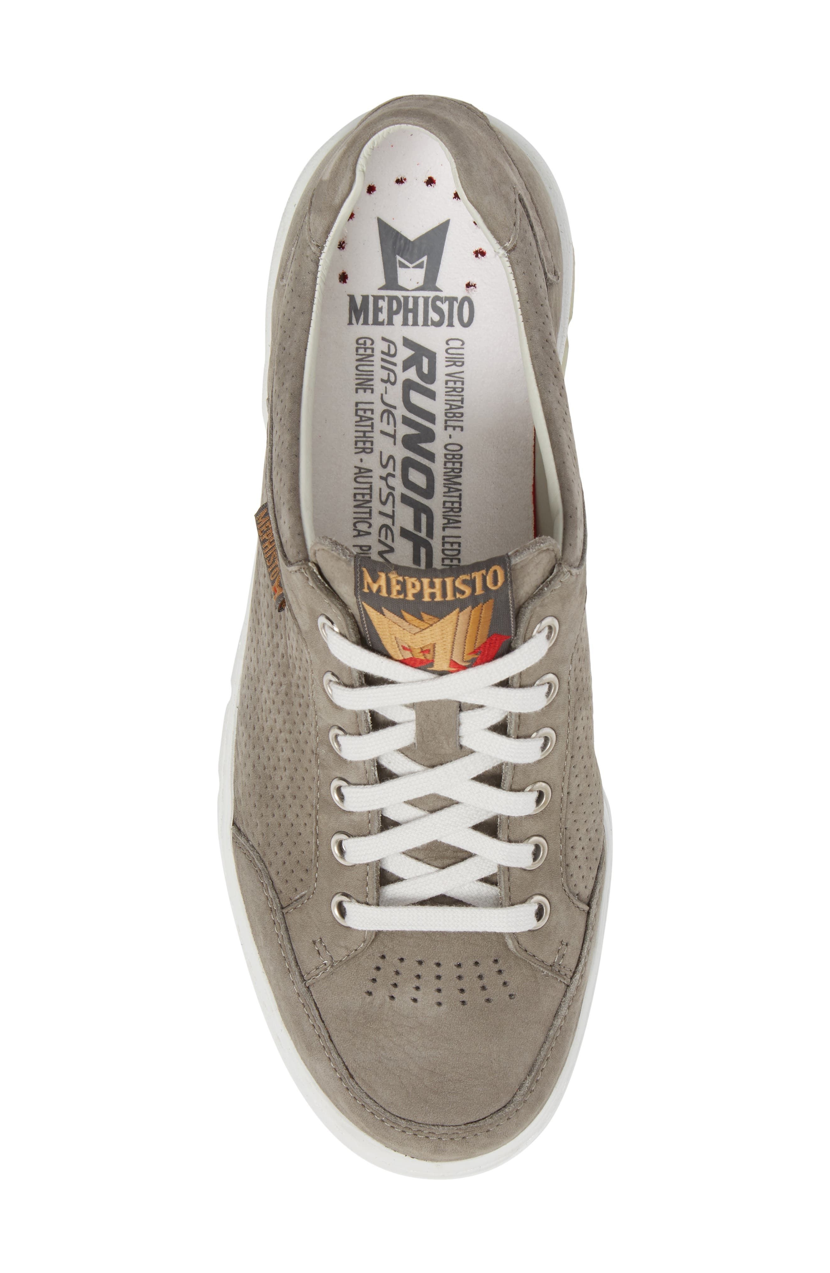 MEPHISTO,                             Mathias Perforated Sneaker,                             Alternate thumbnail 5, color,                             031