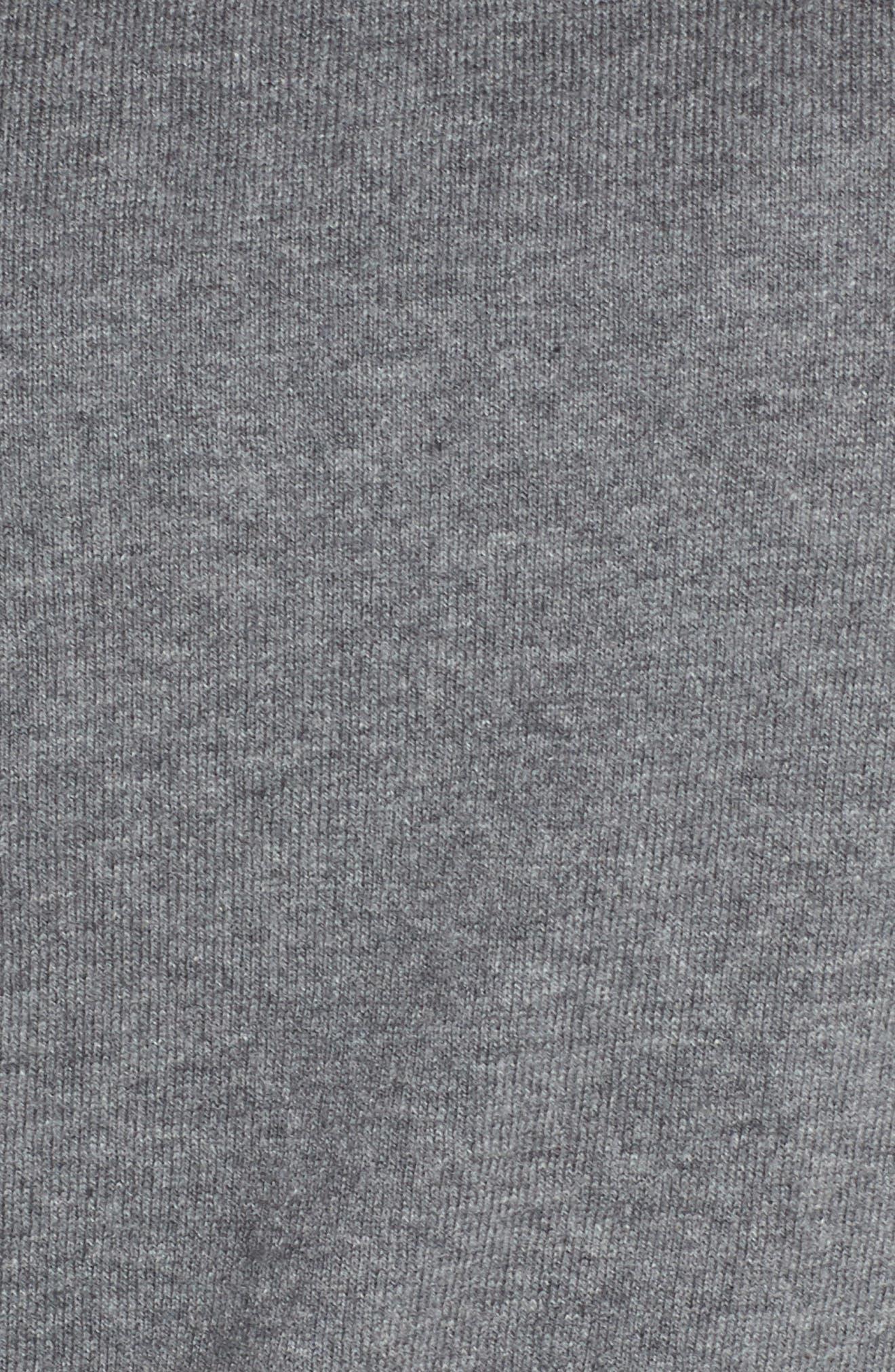 Rainbow Stripe Sweatshirt,                             Alternate thumbnail 5, color,