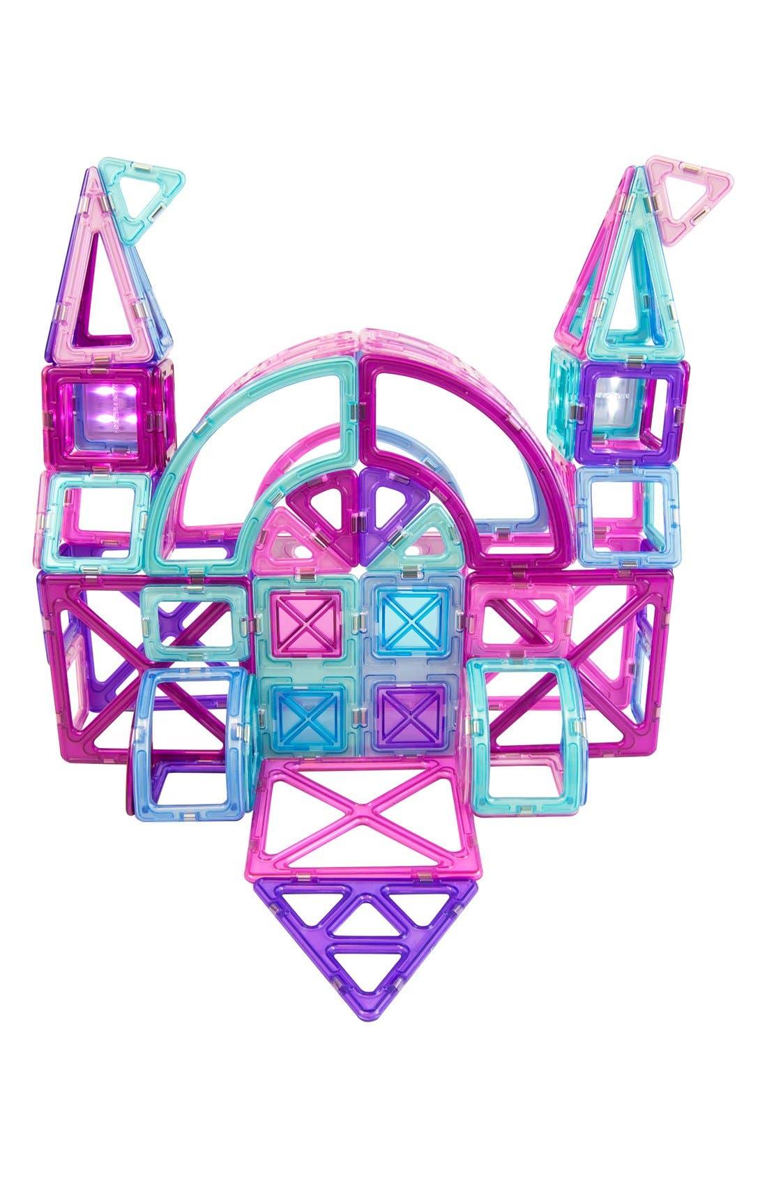 'Inspire' Magnetic Construction Set,                             Alternate thumbnail 2, color,                             Pink/ Purple/ Teal