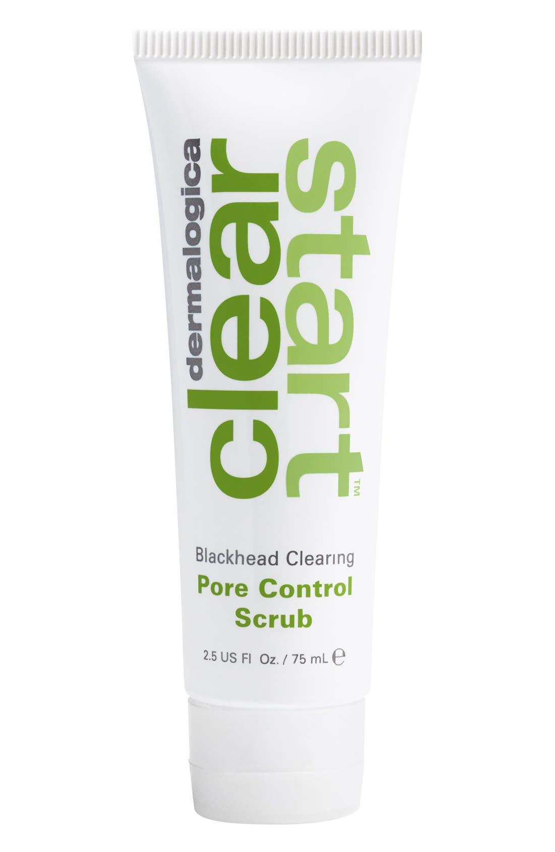 'Clear Start<sup>™</sup>' Blackhead Clearing Pore Control Scrub,                         Main,                         color,