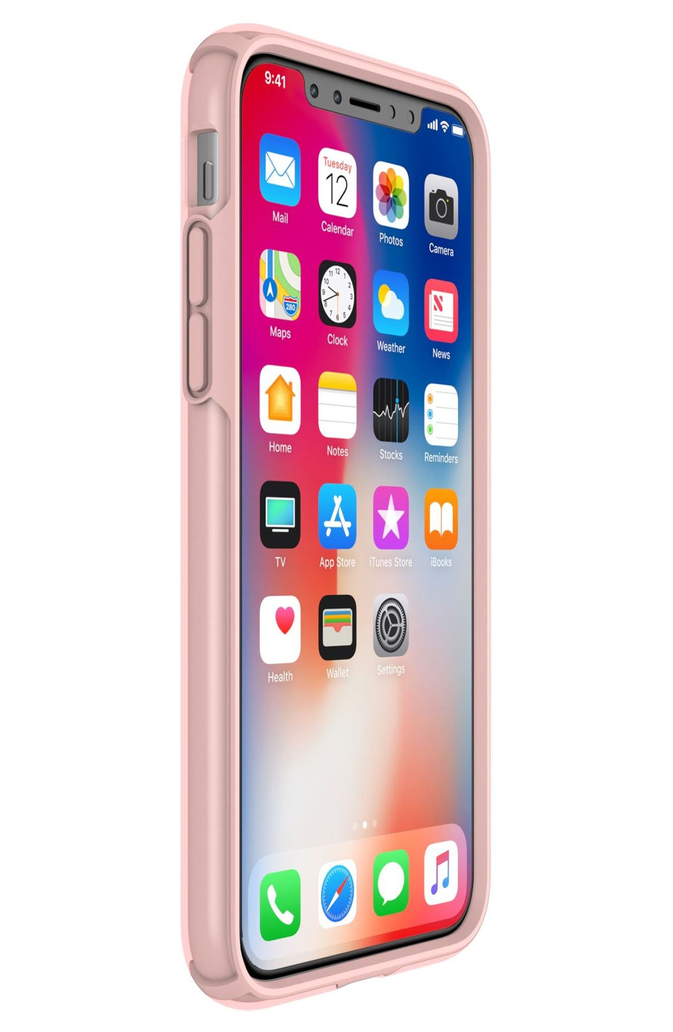 SPECK,                             Transparent iPhone X & Xs Case,                             Alternate thumbnail 7, color,                             710