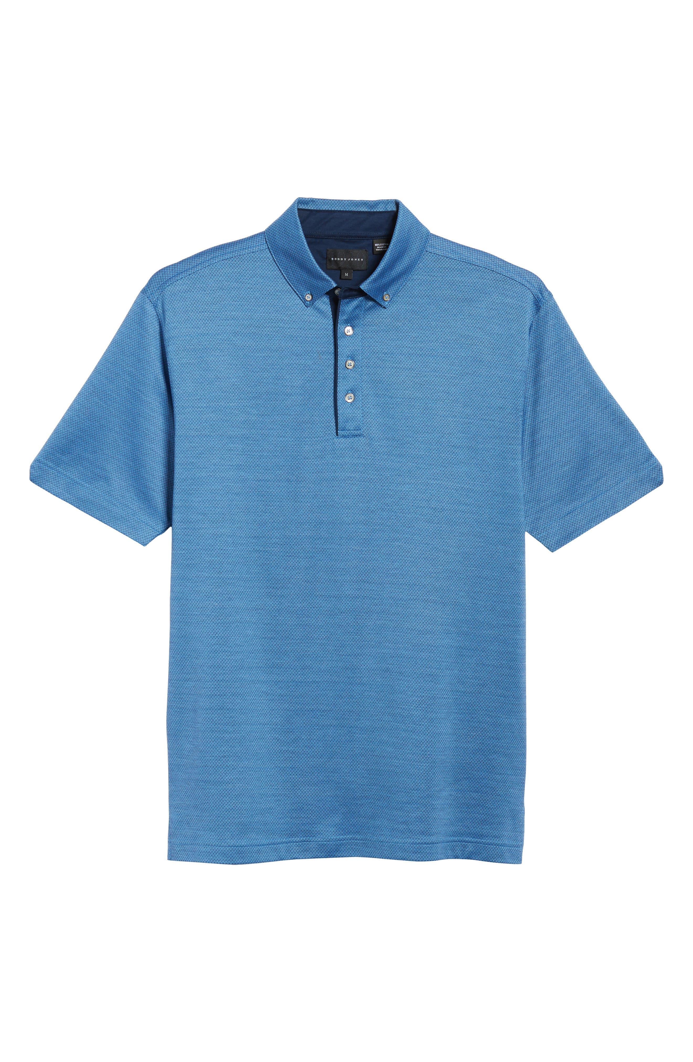 Mercerized Cotton Jacquard Polo,                             Alternate thumbnail 23, color,