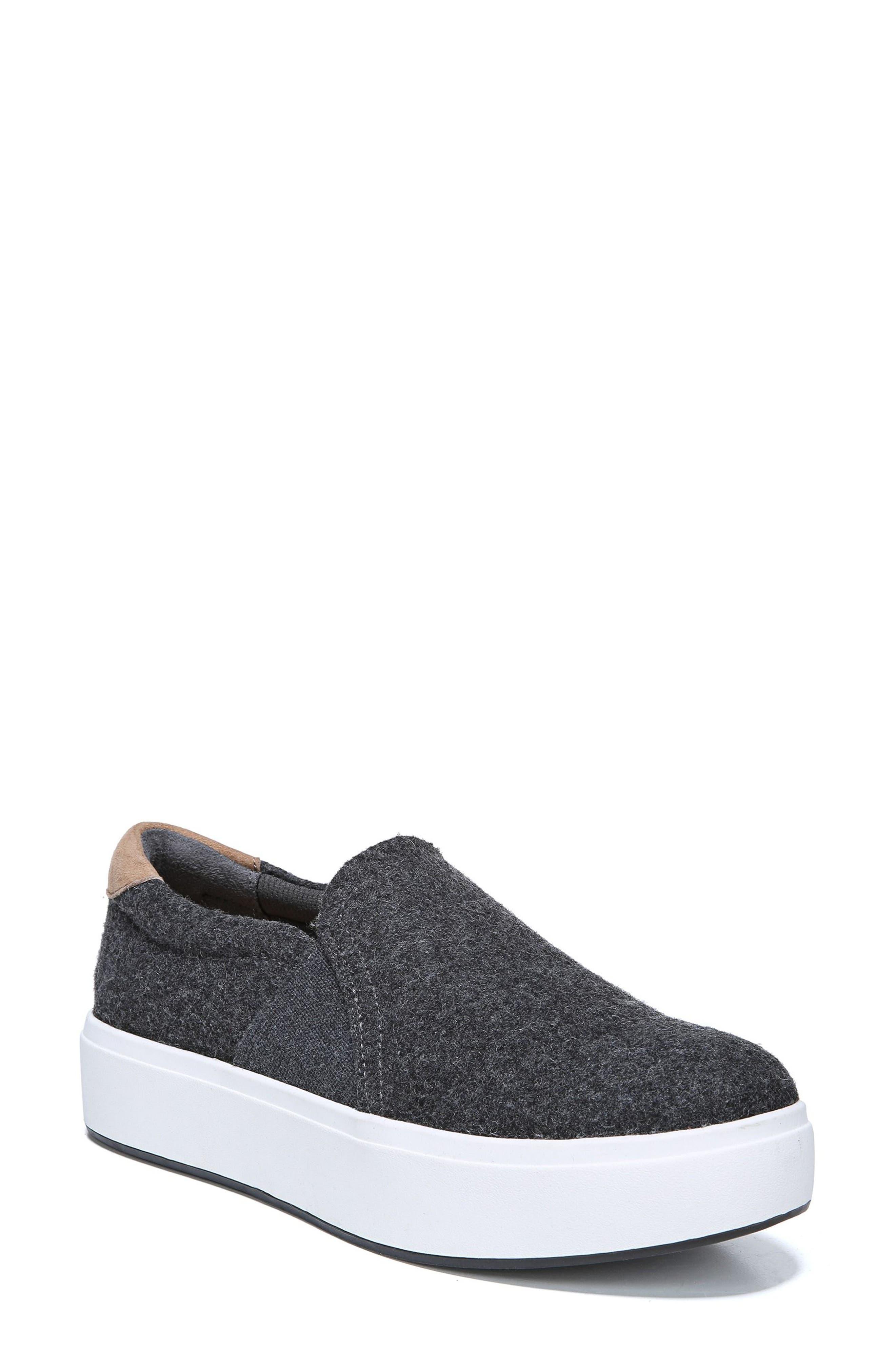 Abbot Slip-On Sneaker,                             Main thumbnail 1, color,                             GREY FABRIC