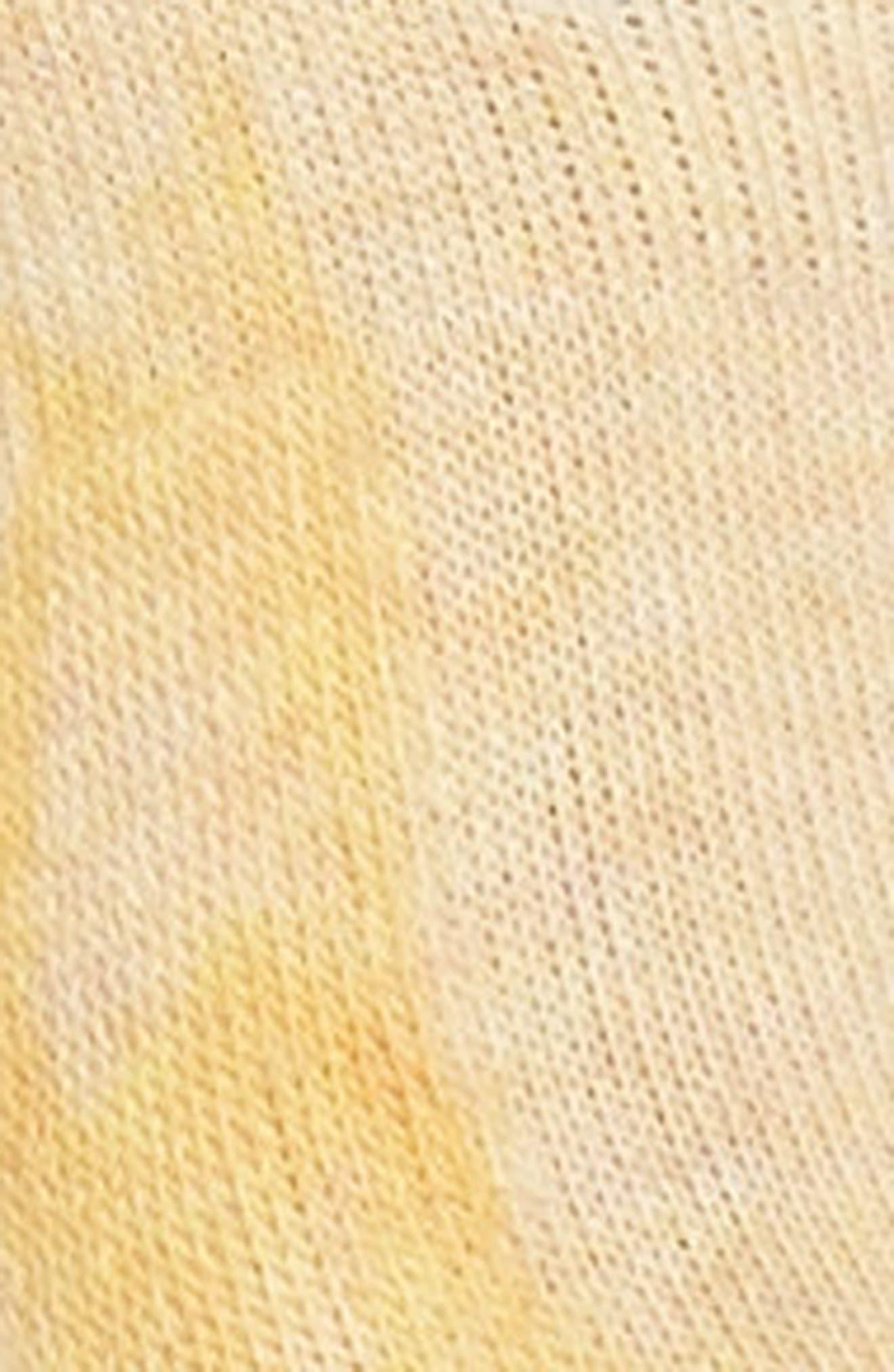 Lemon No-Show Socks,                             Alternate thumbnail 2, color,