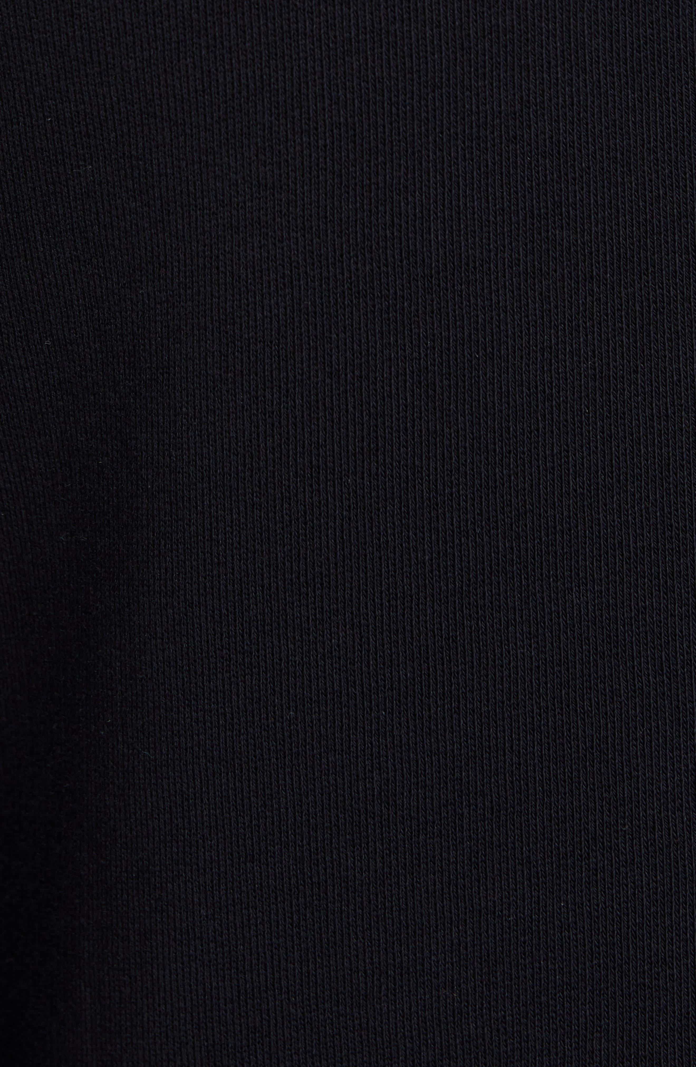 Monnalisa Slim Sweatpants,                             Alternate thumbnail 5, color,                             BLACK