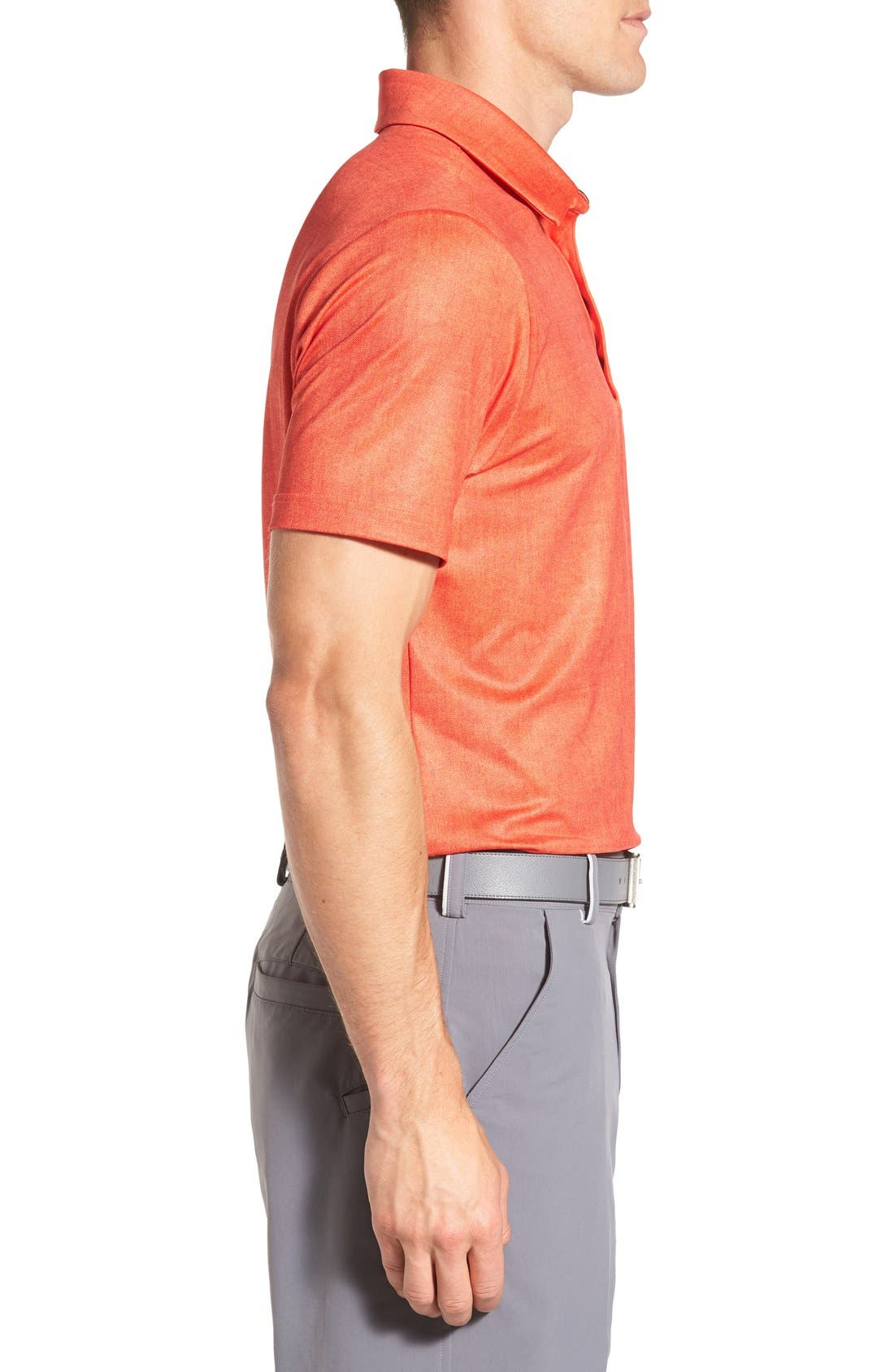 'Playoff' Loose Fit Short Sleeve Polo,                             Alternate thumbnail 167, color,