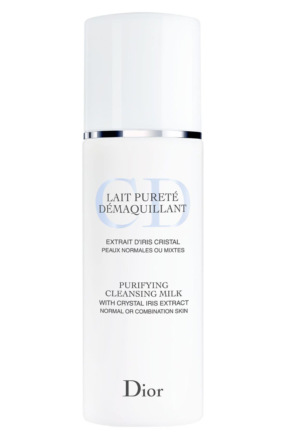Purifying Cleansing Milk for Normal or Combination Skin,                             Main thumbnail 1, color,                             000