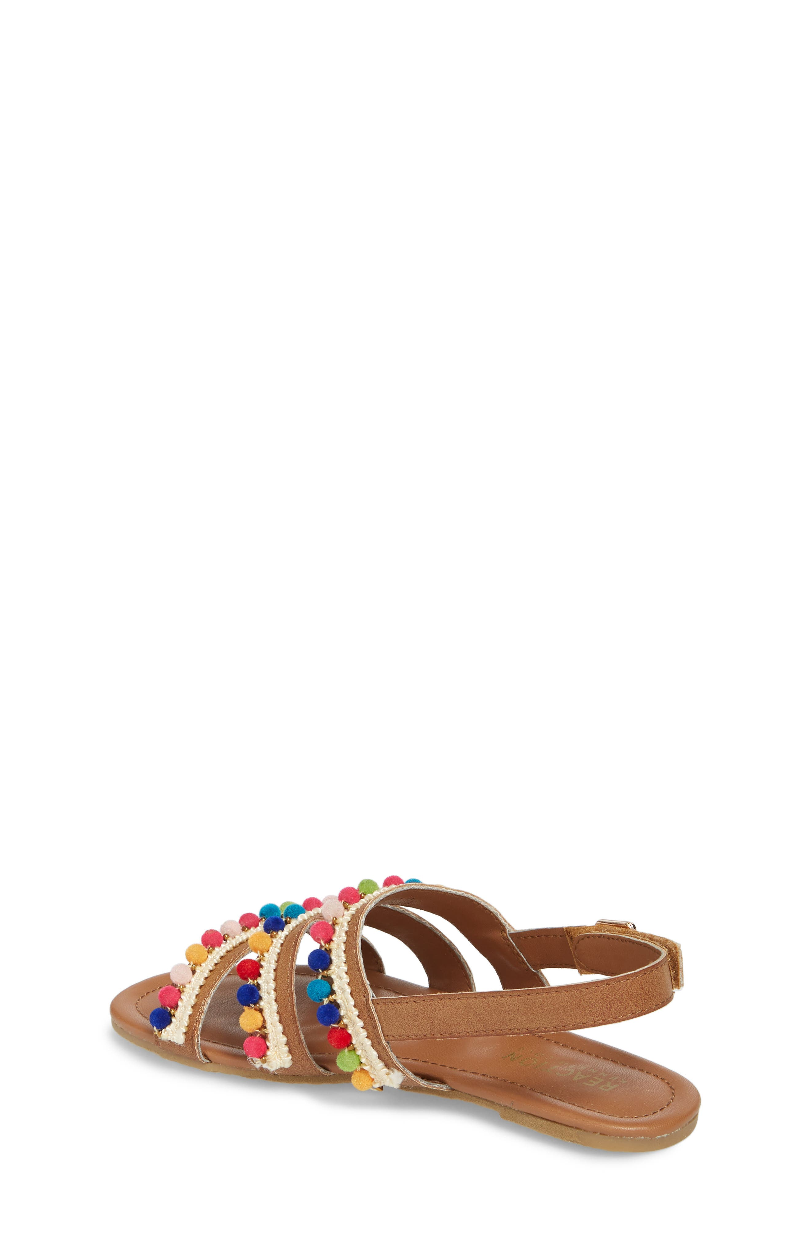 Kiera Pom Embellished Sandal,                             Alternate thumbnail 2, color,                             259