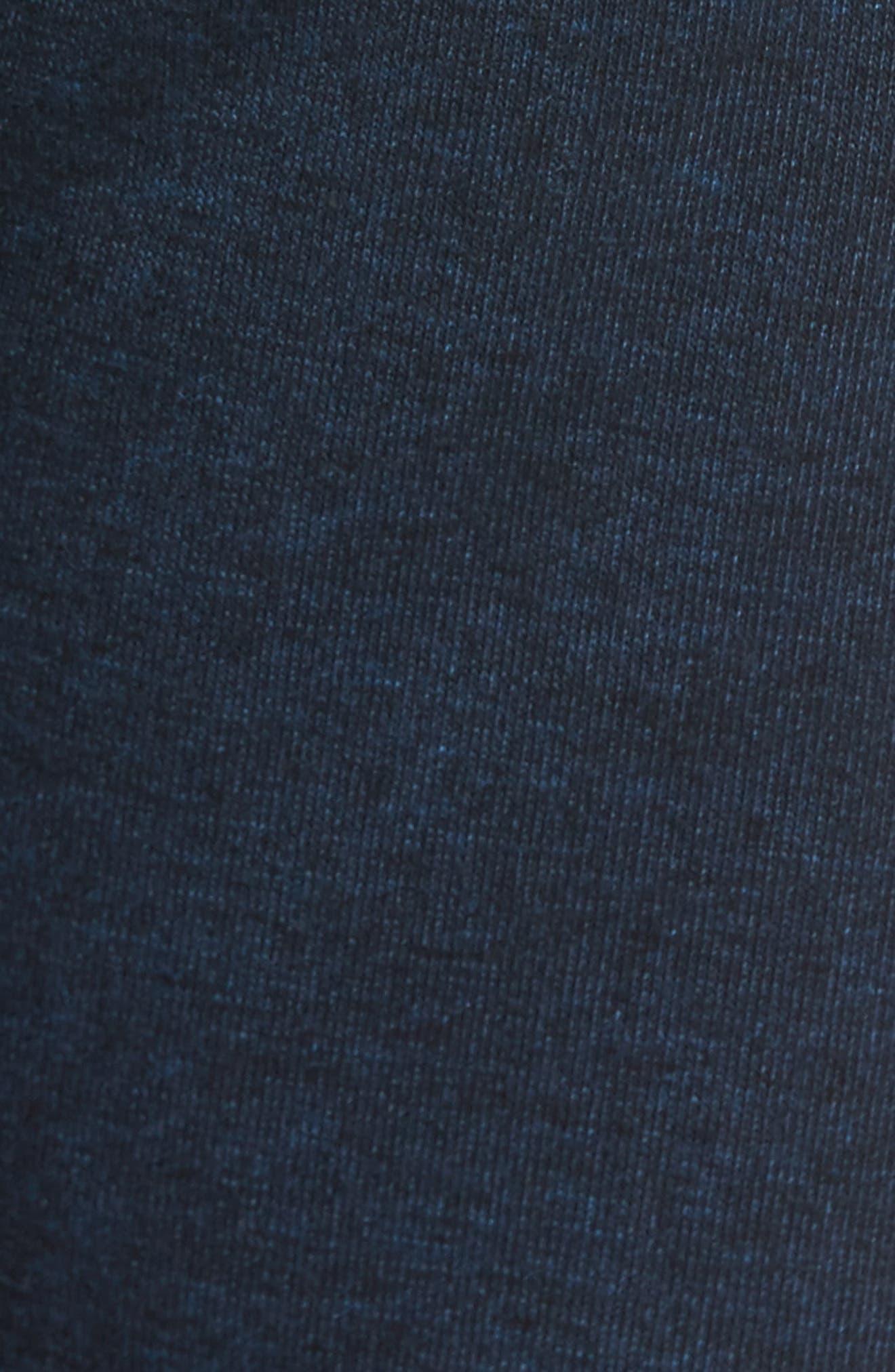 Fleece Shorts,                             Alternate thumbnail 5, color,                             NAVY PEACOAT