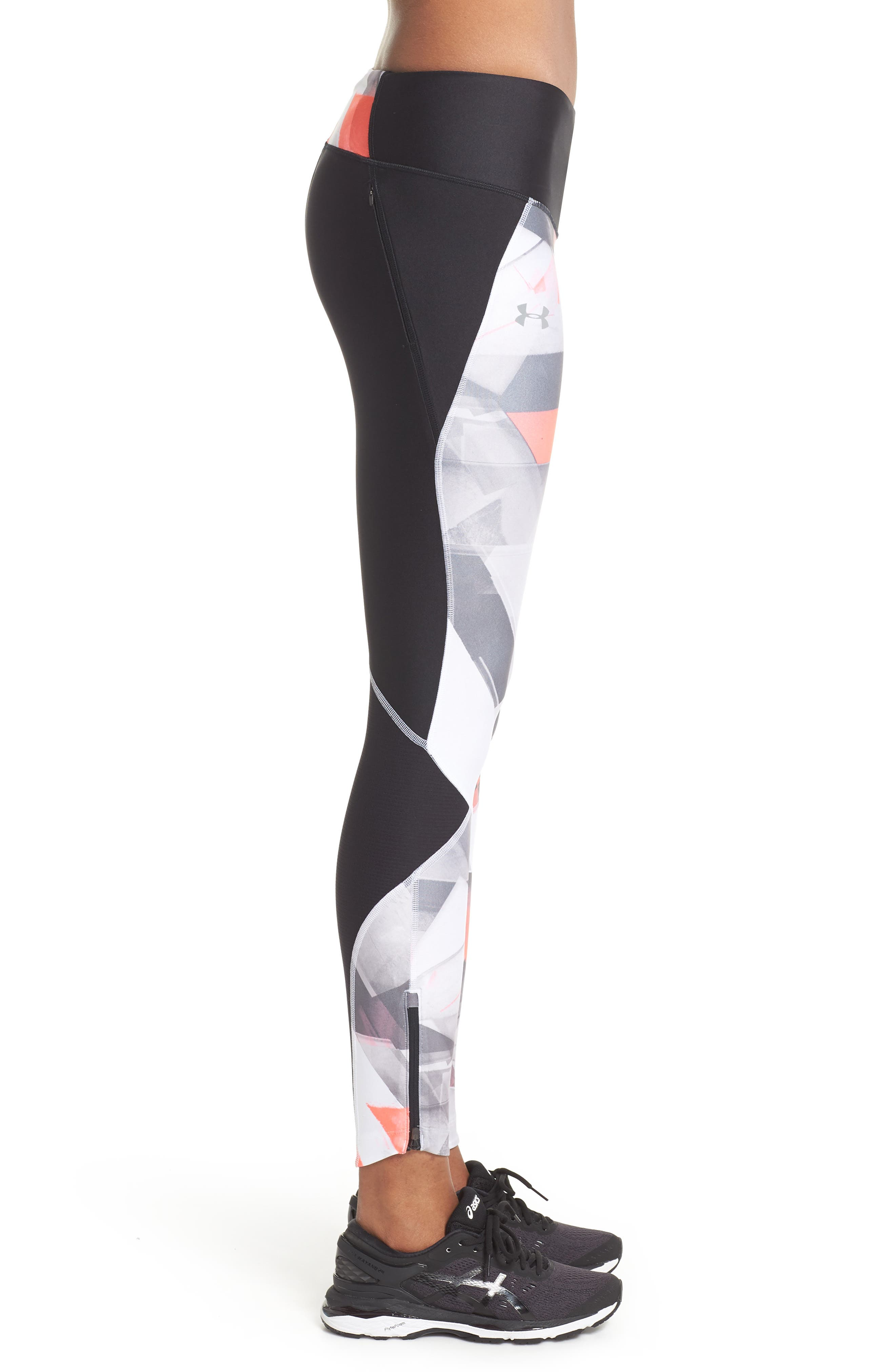 Fly Fast HeatGear<sup>®</sup> Leggings,                             Alternate thumbnail 3, color,                             003