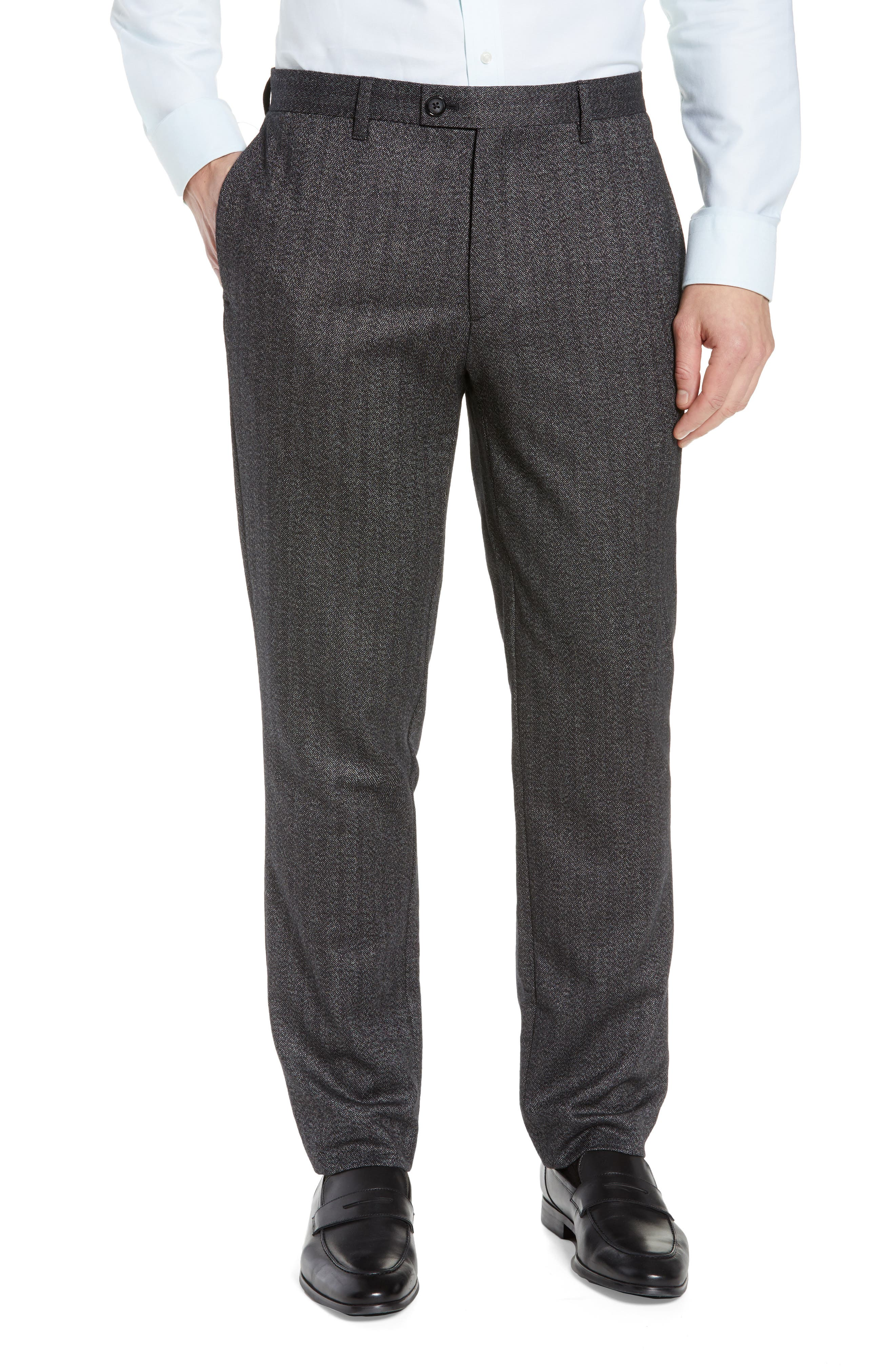 Wenstro Classic Fit Trousers,                             Main thumbnail 1, color,                             020