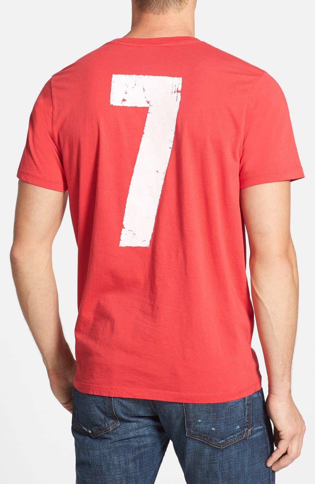 'Manchester United FC' Graphic T-Shirt,                             Alternate thumbnail 3, color,                             621