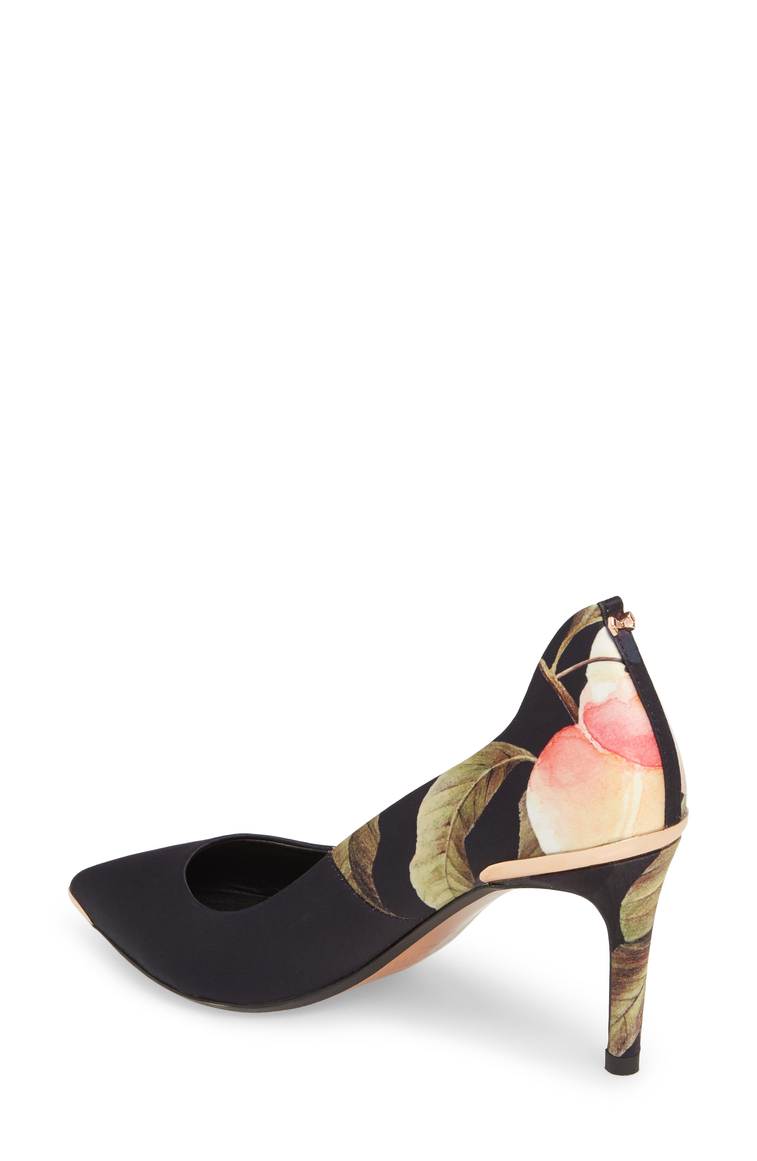 TED BAKER LONDON,                             Pointy Toe Pump,                             Alternate thumbnail 2, color,                             001