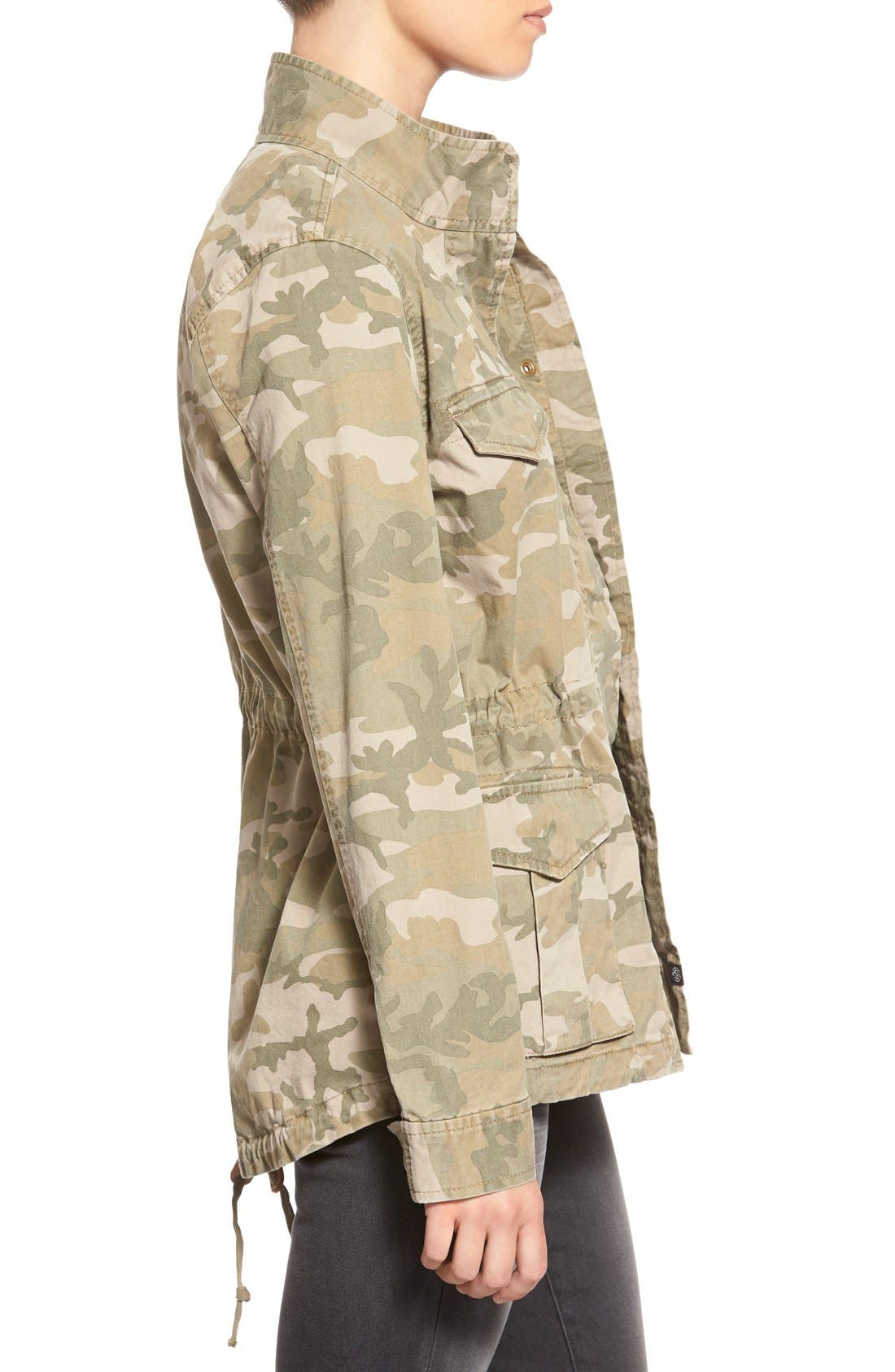 Treasure&Bond Camo Print Field Jacket,                             Alternate thumbnail 5, color,                             300
