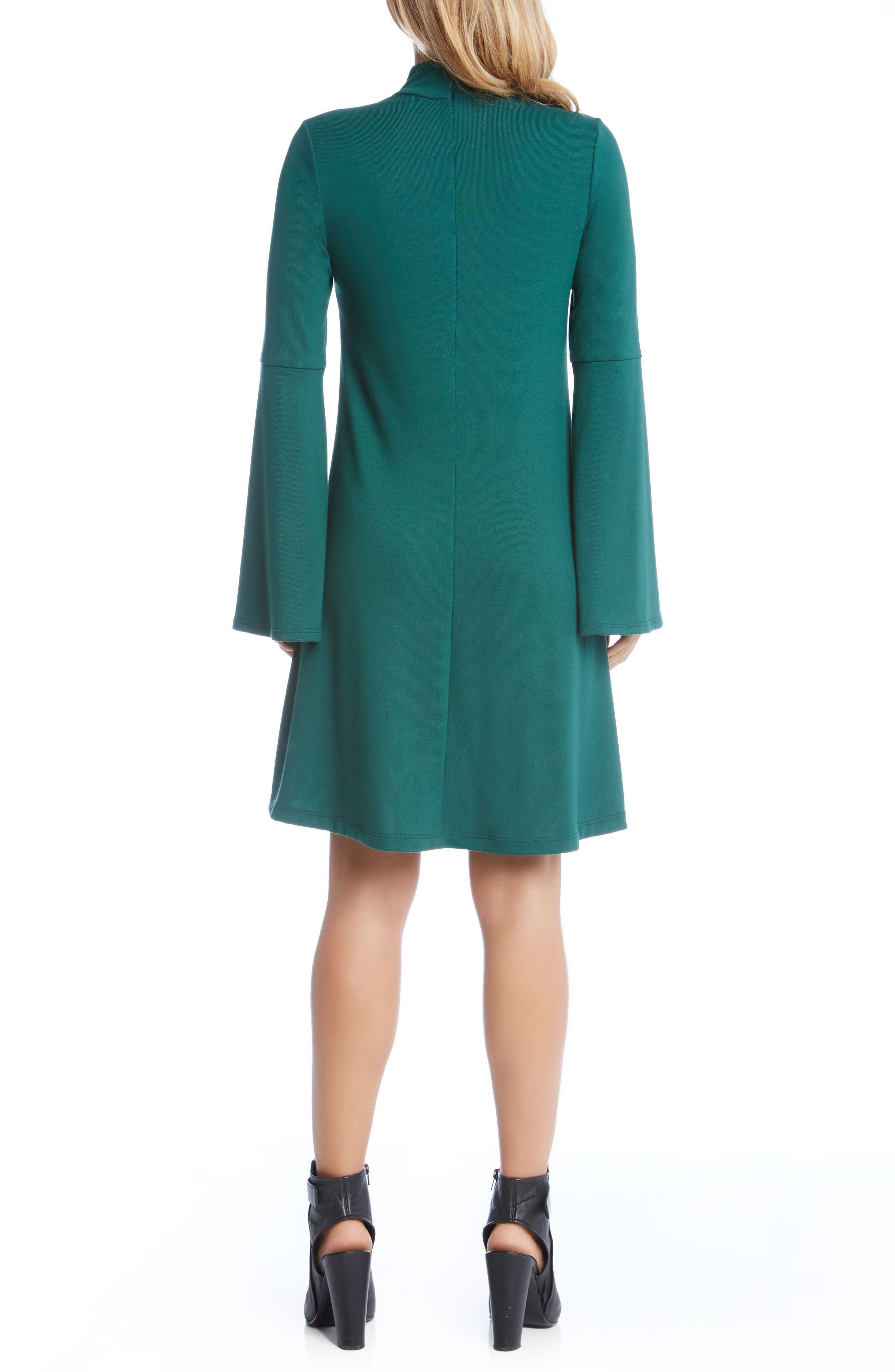 Taylor Choker Neck Dress,                             Alternate thumbnail 4, color,