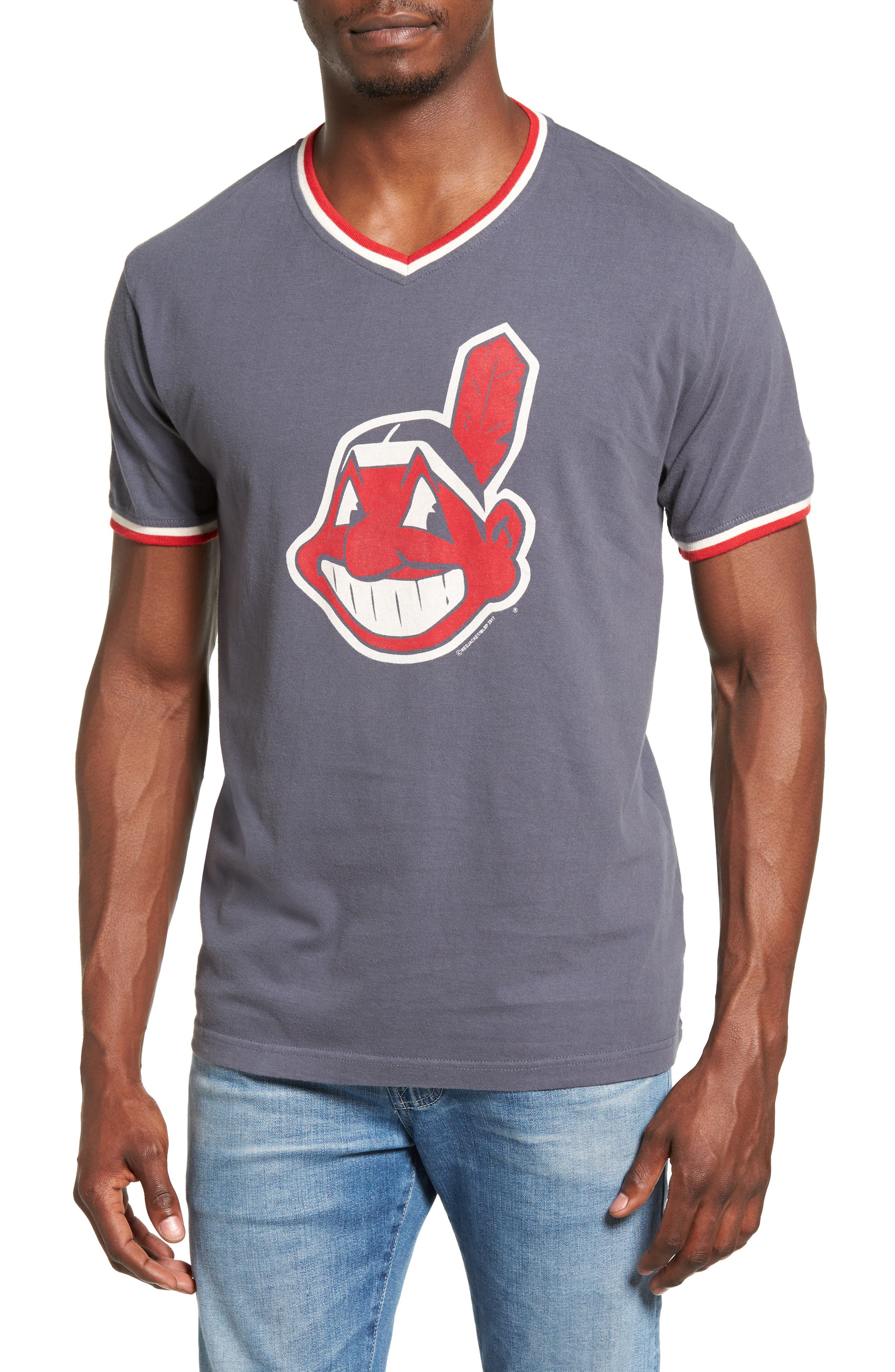 Eastwood Cleveland Indians T-Shirt,                             Main thumbnail 1, color,                             410
