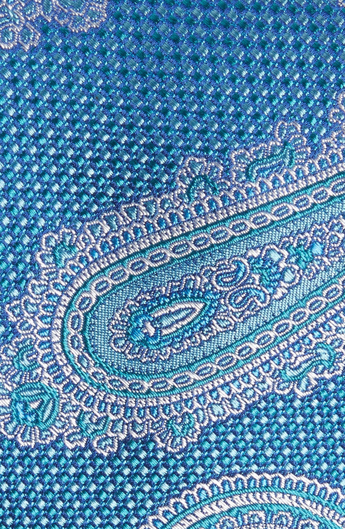 Paisley Silk Tie,                             Alternate thumbnail 2, color,                             439