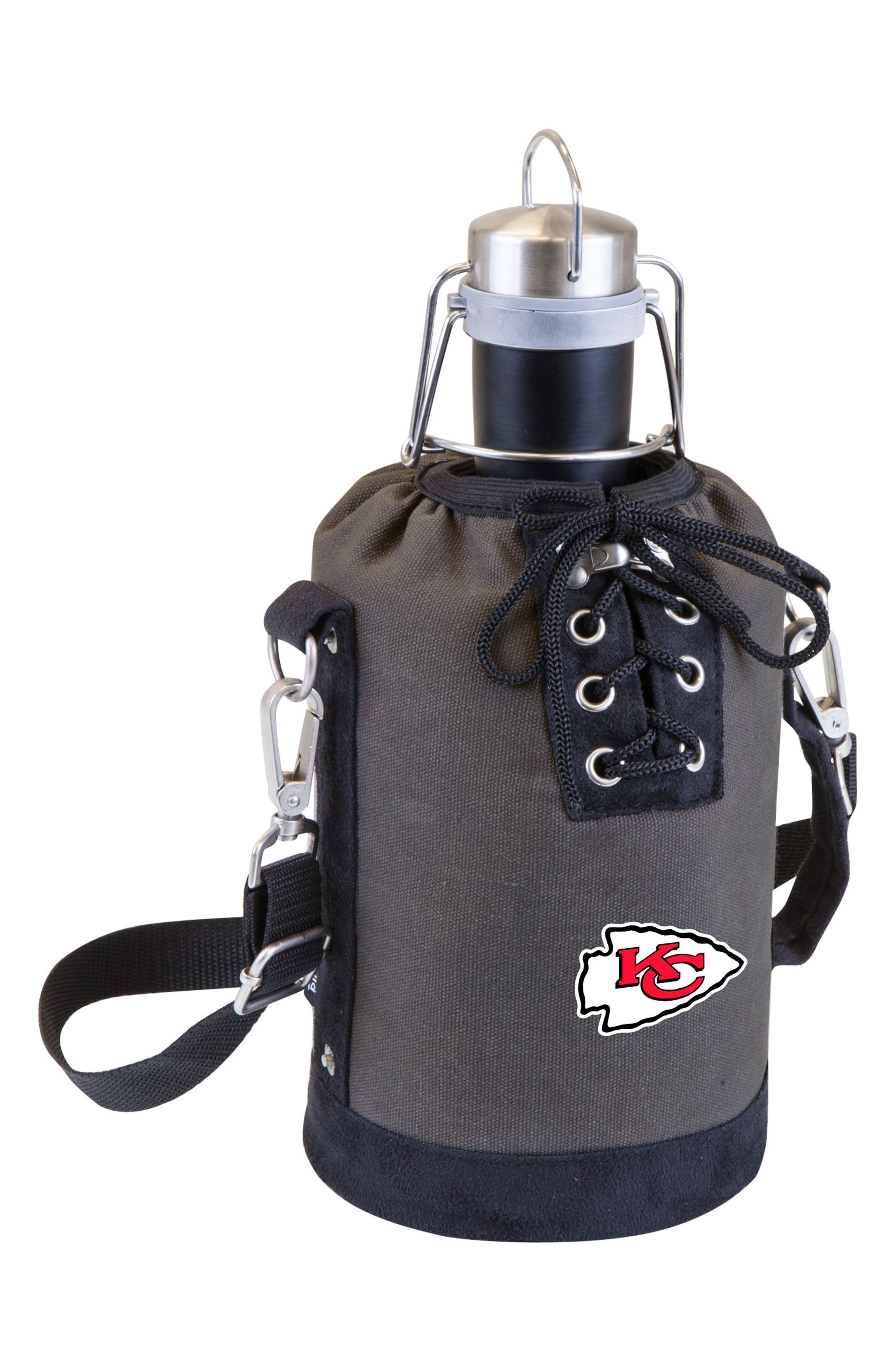NFL Team Logo Tote & Stainless Steel Growler,                             Main thumbnail 16, color,
