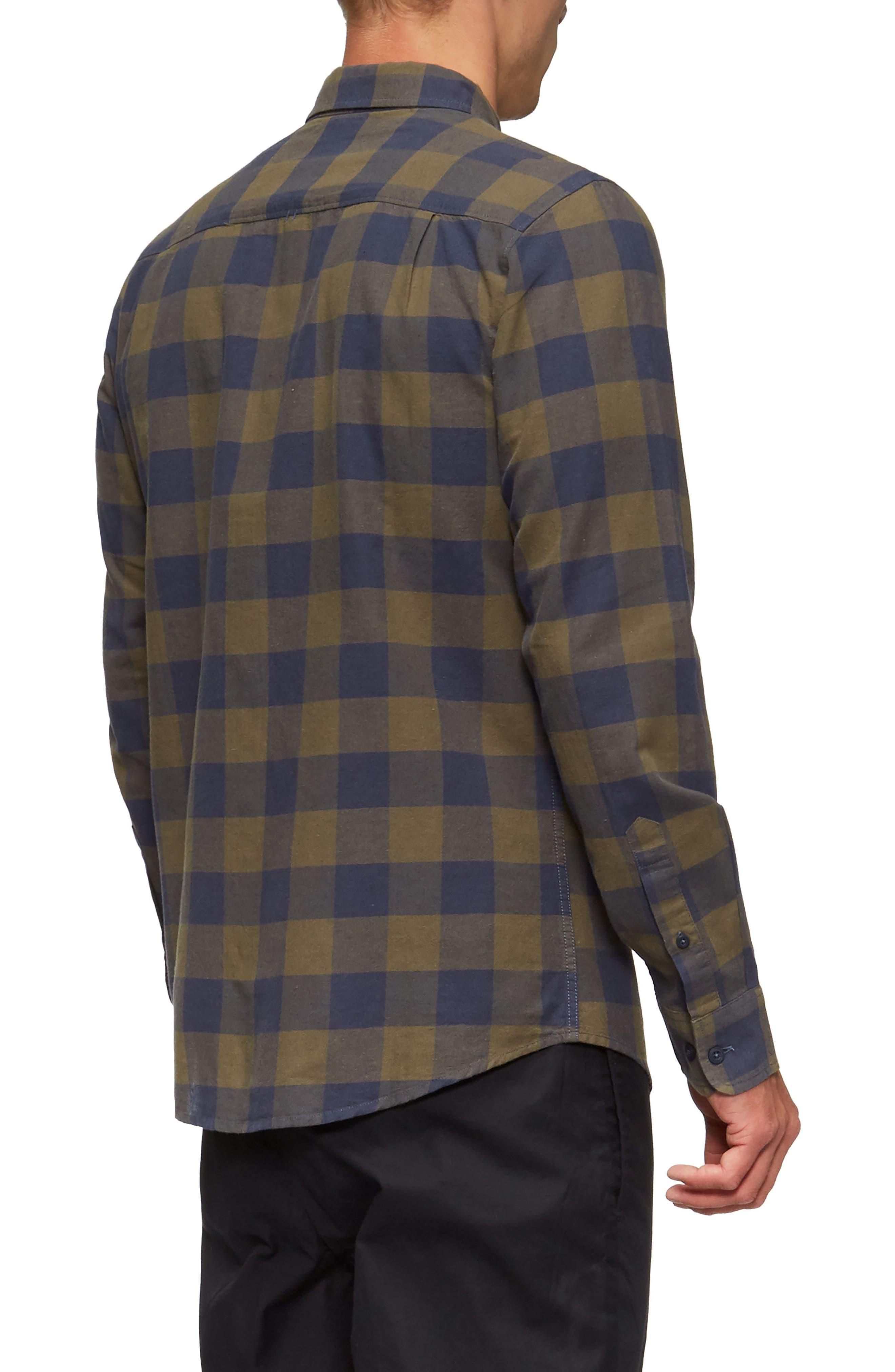 Cohen Long-Sleeve Shirt,                             Alternate thumbnail 2, color,                             457