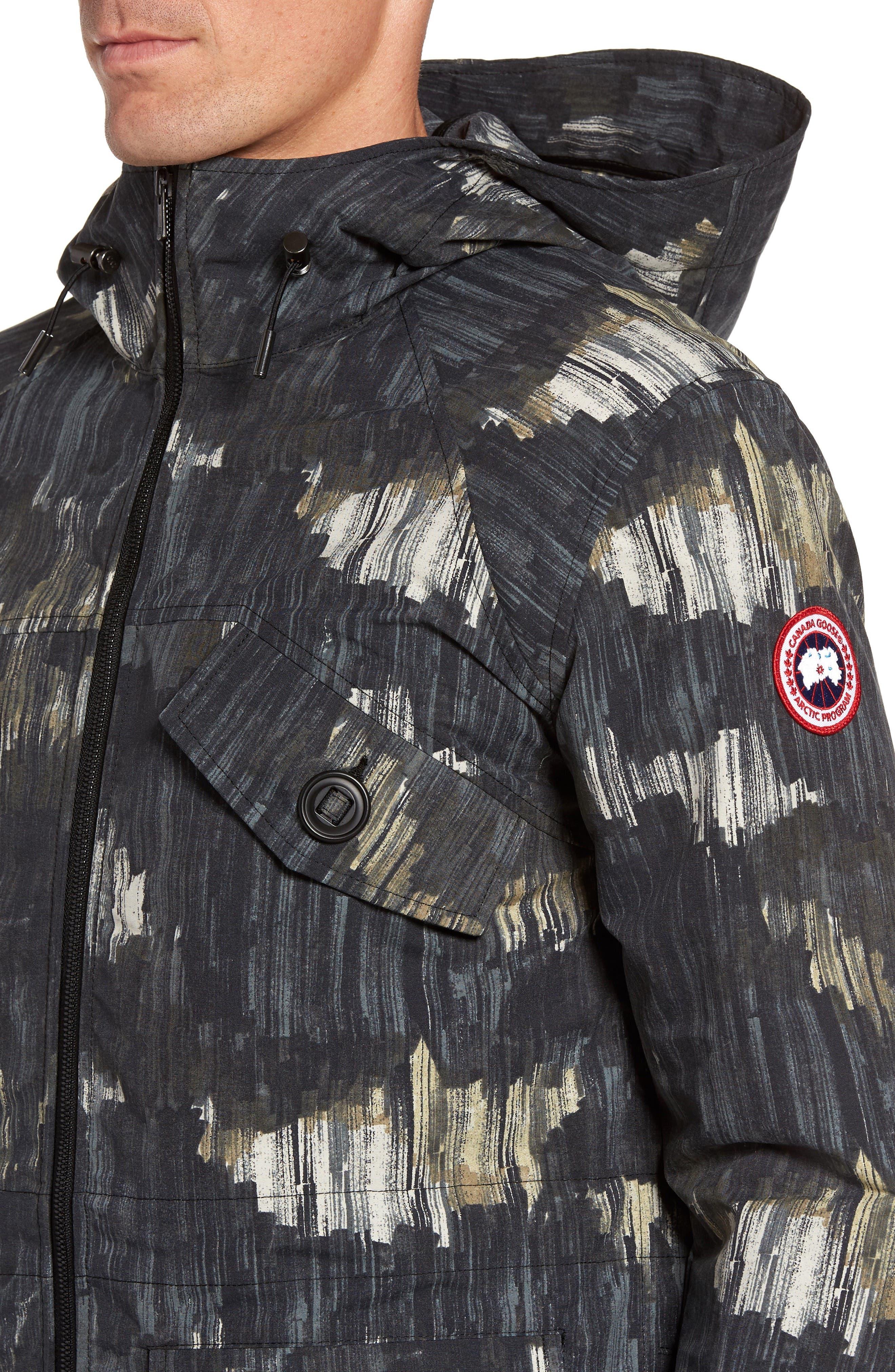 Redstone Slim Fit Hooded Jacket,                             Alternate thumbnail 4, color,                             NOCTURNE PRINT