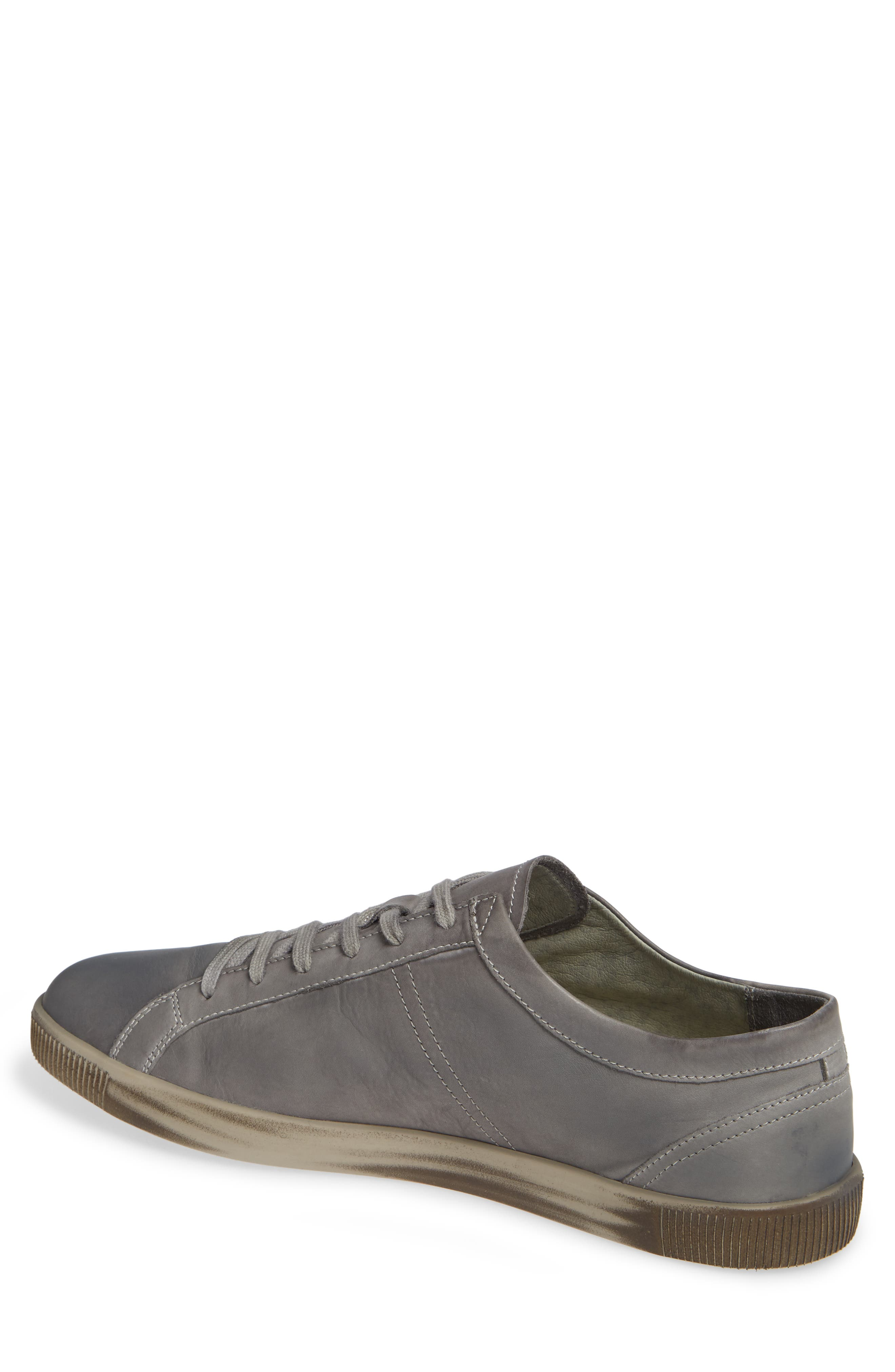 Tom Sneaker,                             Alternate thumbnail 2, color,                             MILITARY WASHED LEATHER
