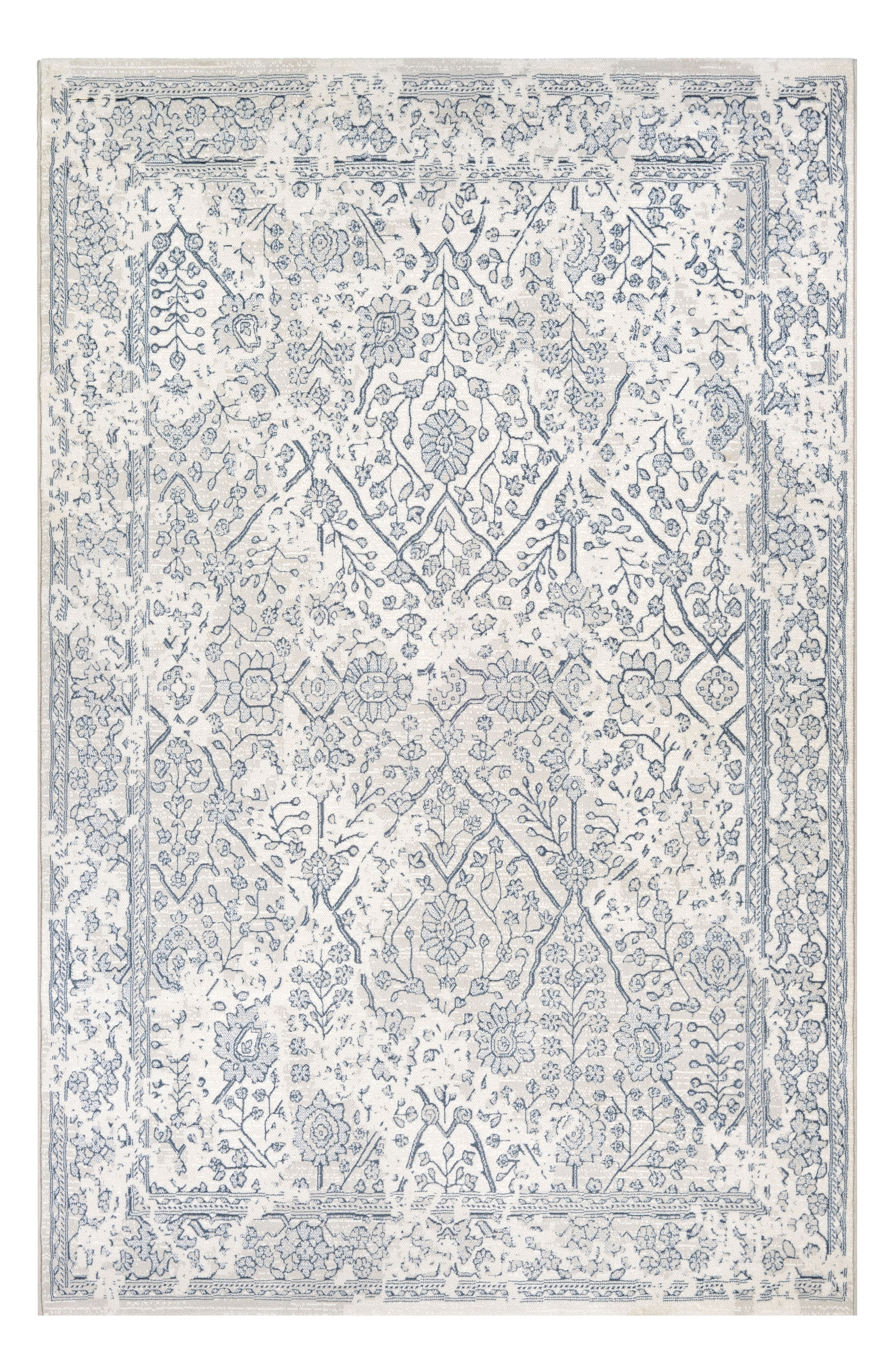 Lillian Indoor/Outdoor Rug,                         Main,                         color, OYSTER/SLATE BLUE