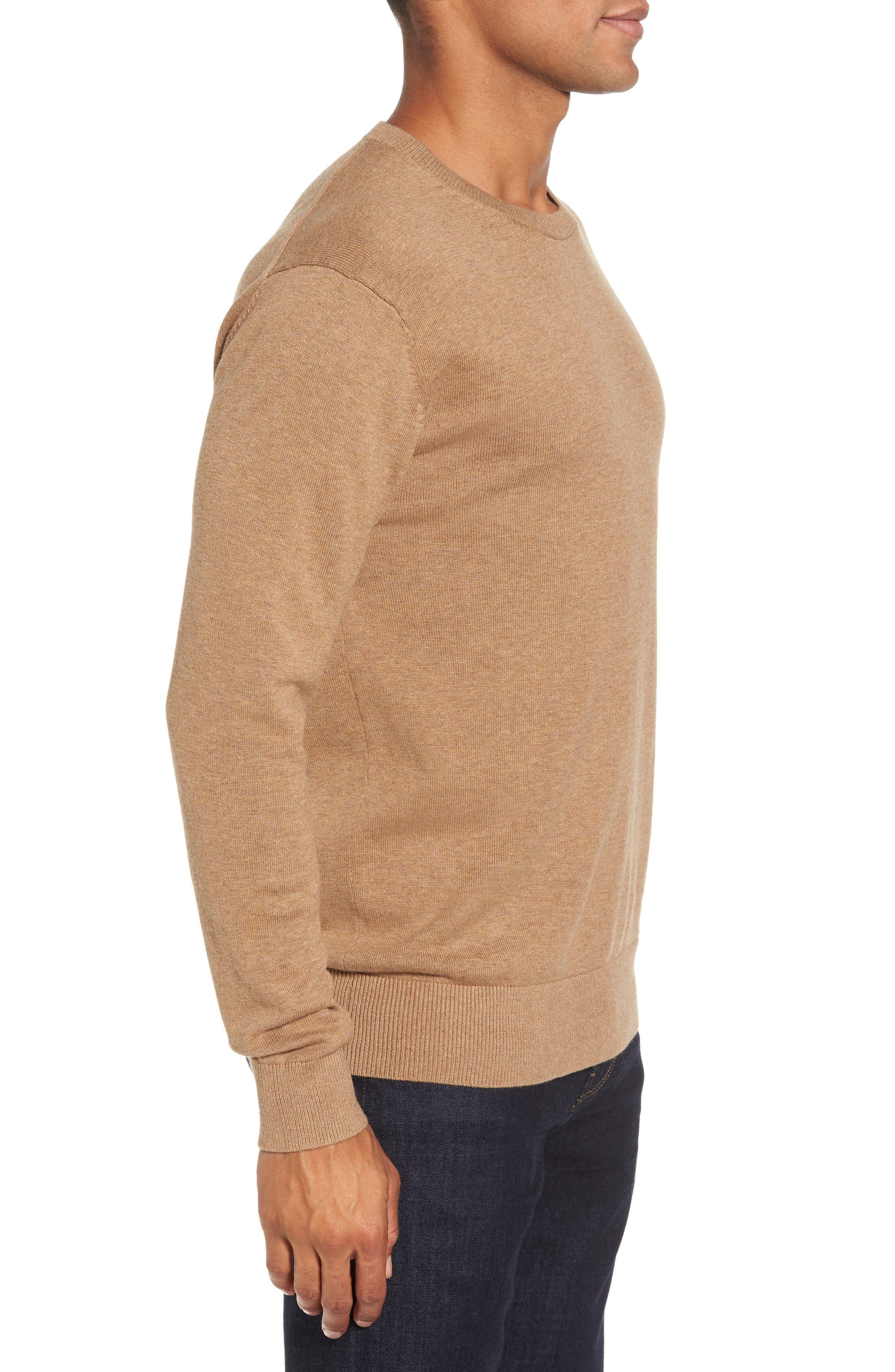 Portrait Crewneck Sweater,                             Alternate thumbnail 8, color,