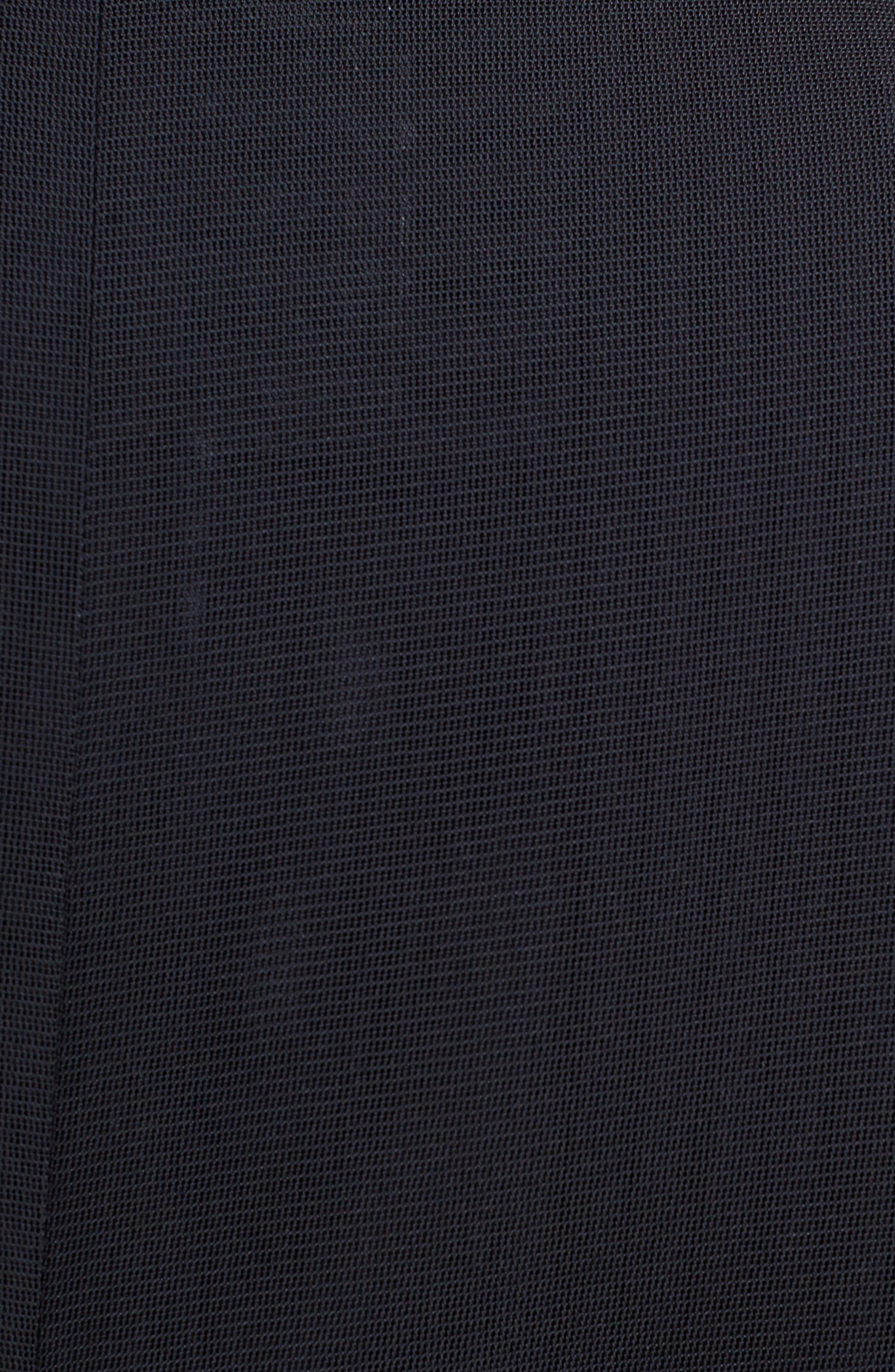 Mesh Bomber Jacket,                             Alternate thumbnail 5, color,                             001