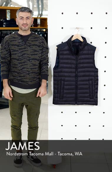 Down Puffer Hooded Vest, sales video thumbnail
