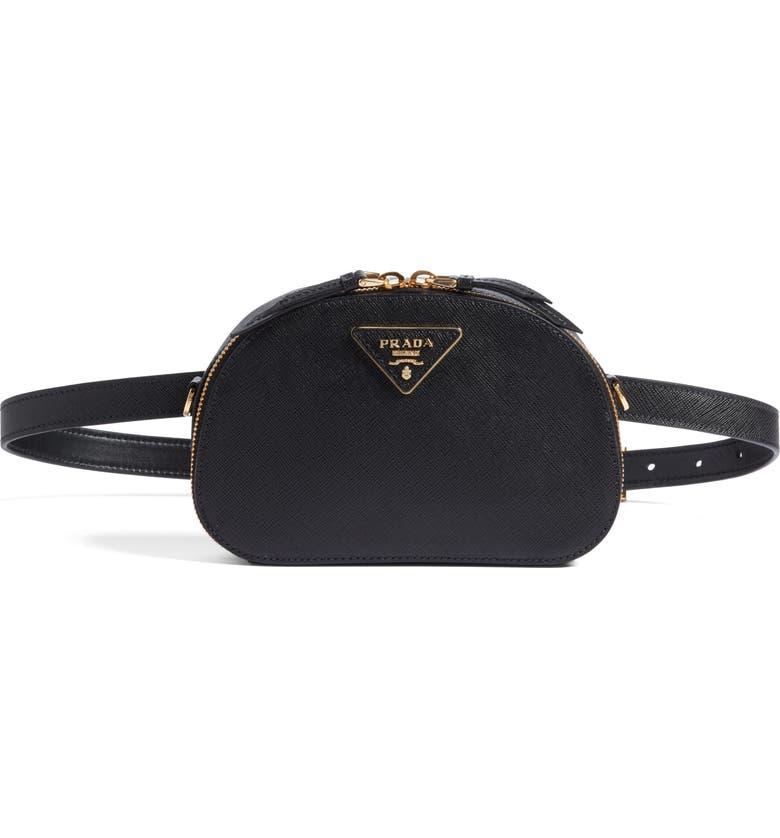 da3eb3bdc3 Prada Saffiano Leather Belt Bag