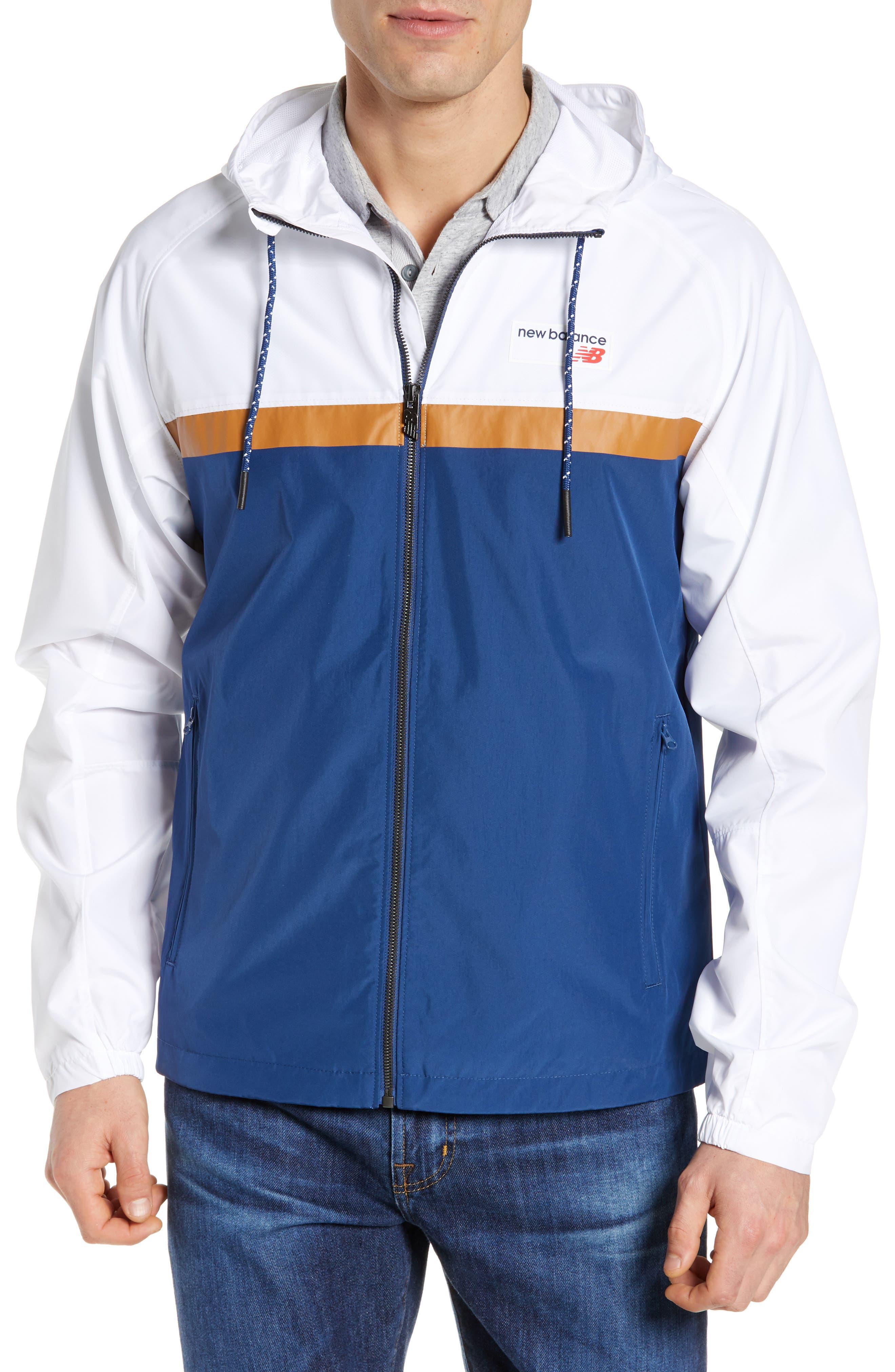 New Balance Athletics 78 Jacket, White