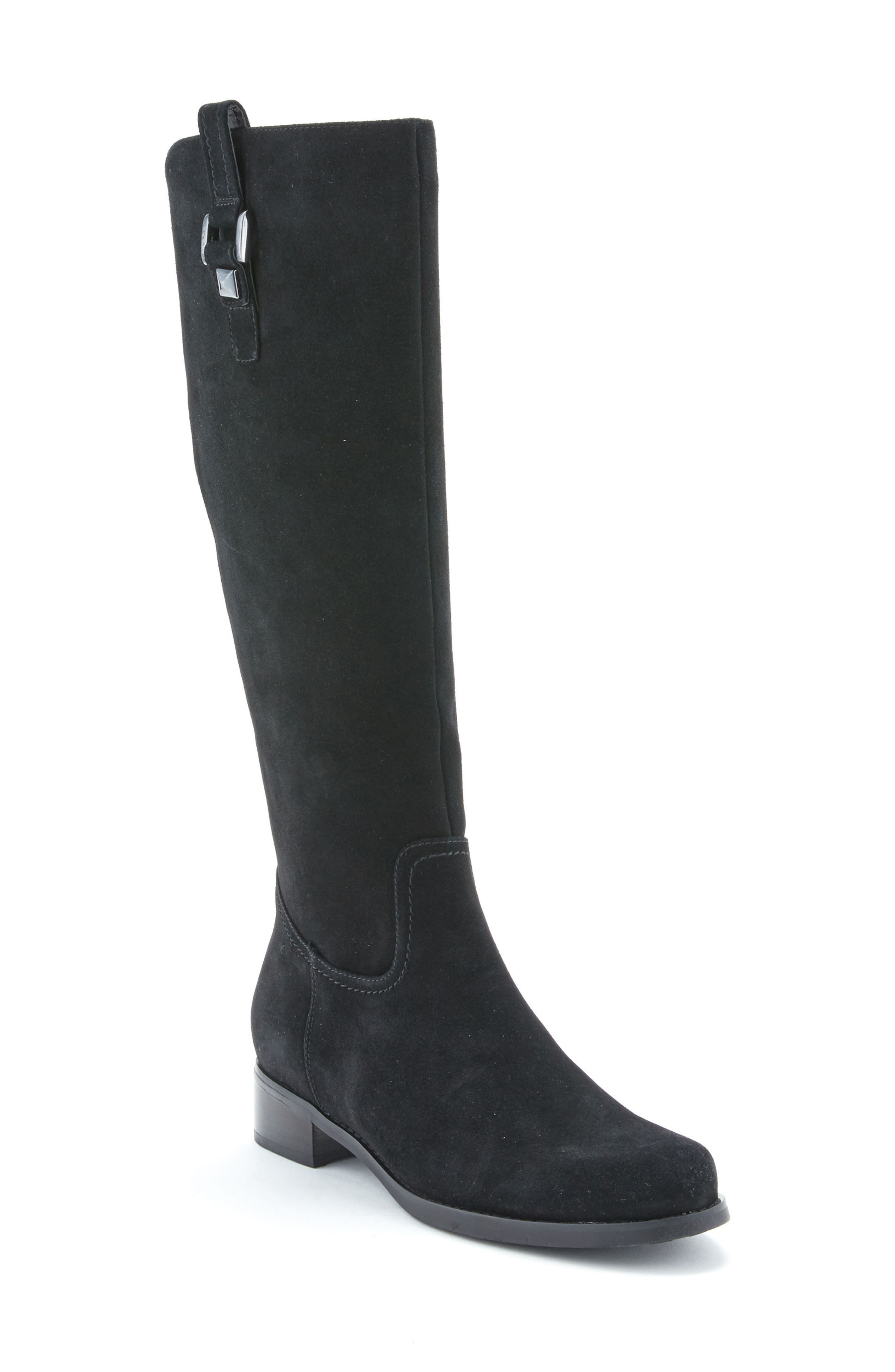'Velvet' Waterproof Riding Boot,                             Main thumbnail 1, color,                             006