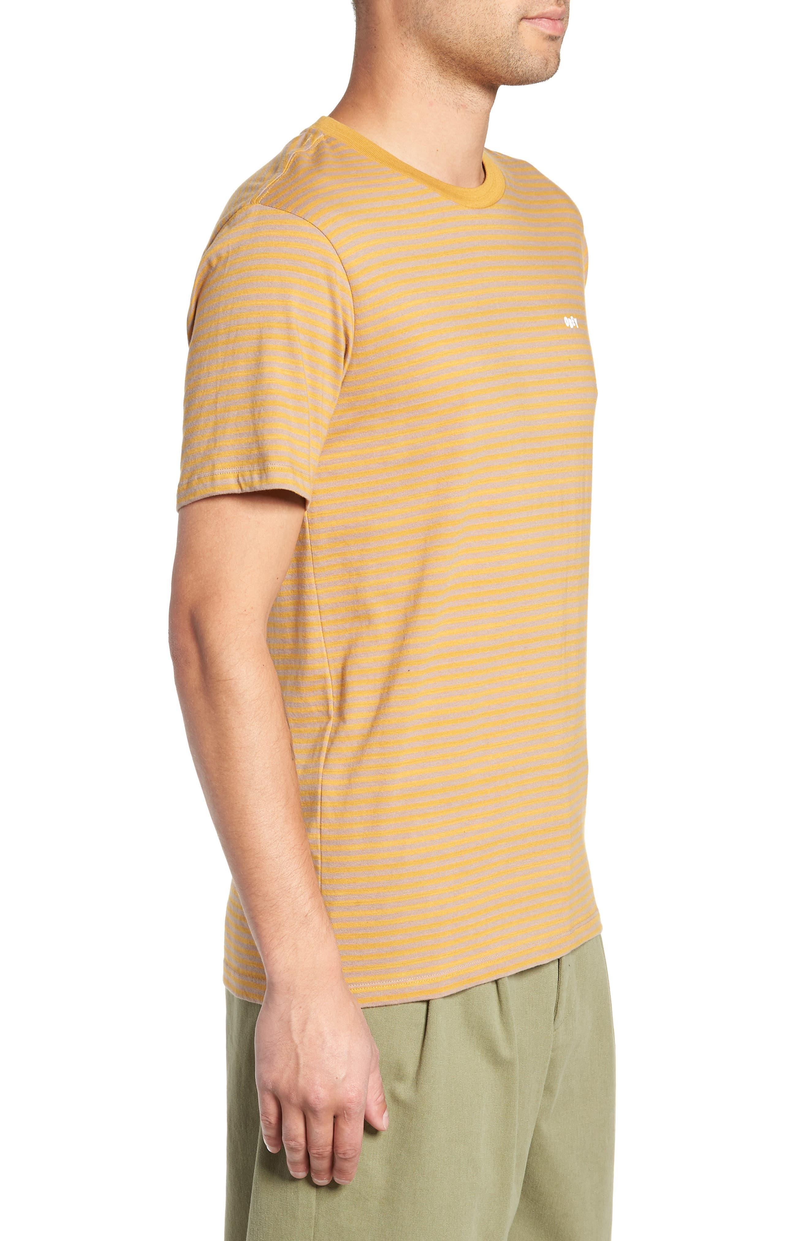 Apex Stripe T-Shirt,                             Alternate thumbnail 3, color,                             330