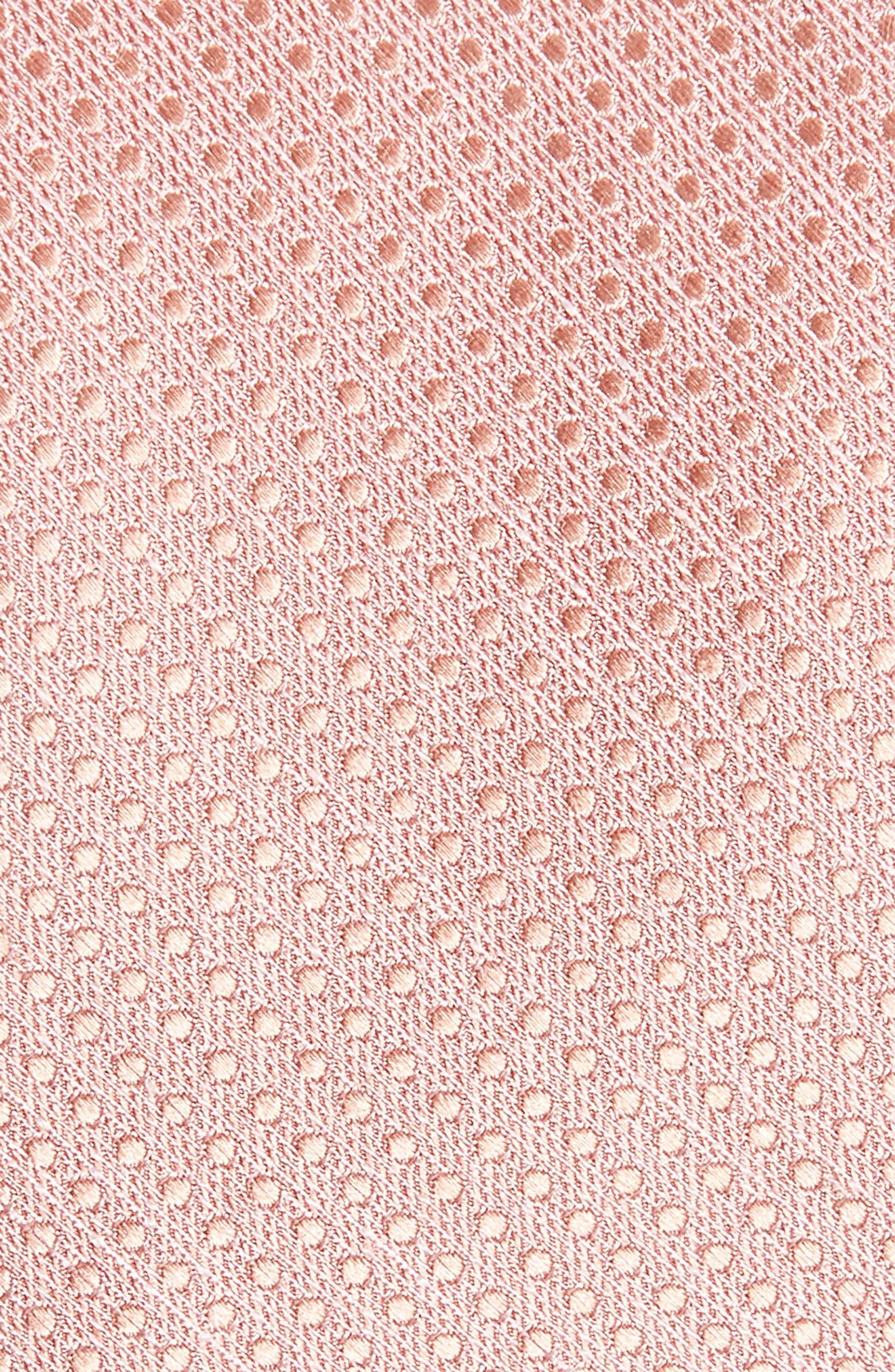 Dotten Dot Silk & Cotton Tie,                             Alternate thumbnail 6, color,