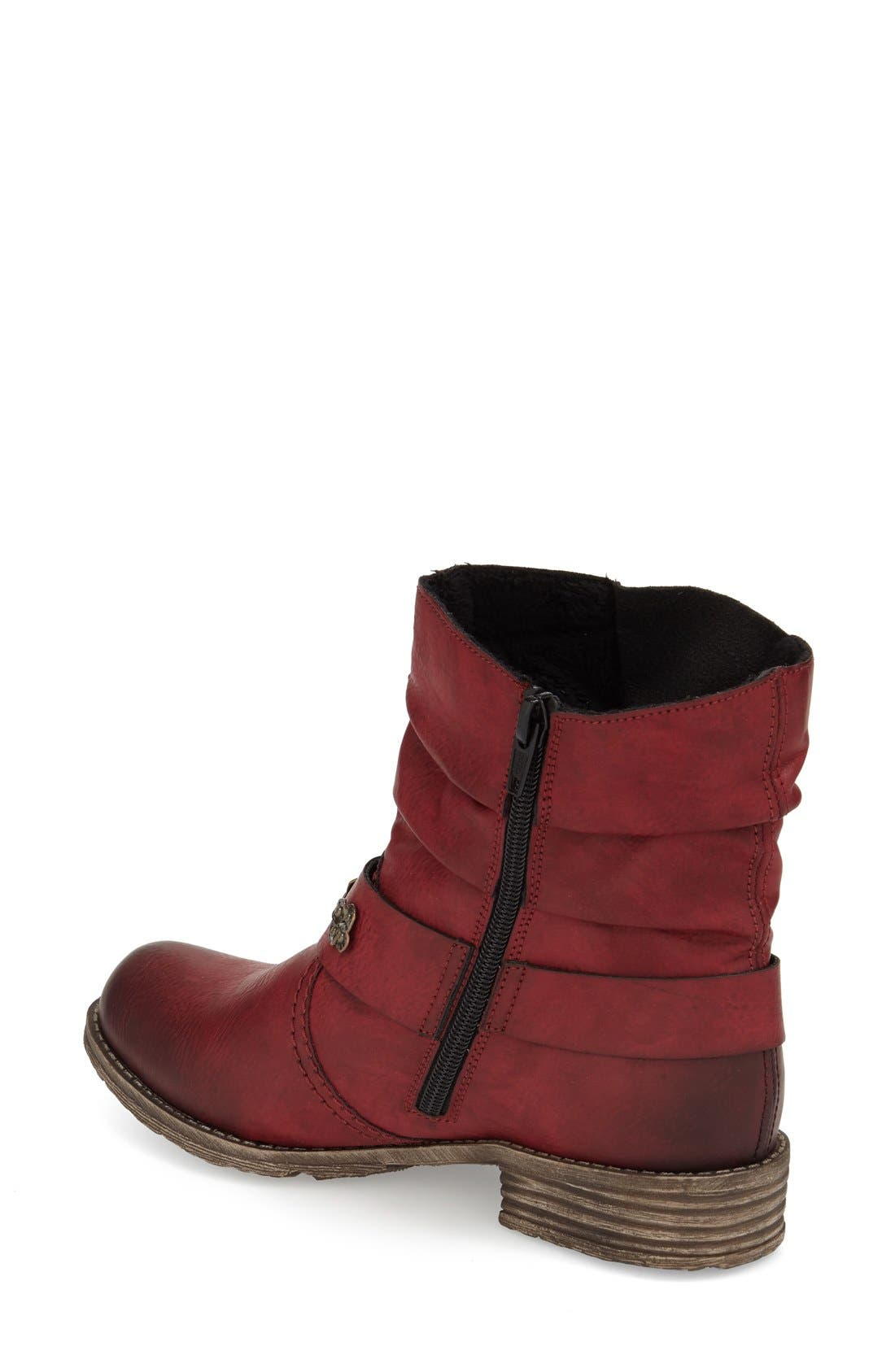 Rieker Antistress 'Peggy' Boot,                             Alternate thumbnail 10, color,