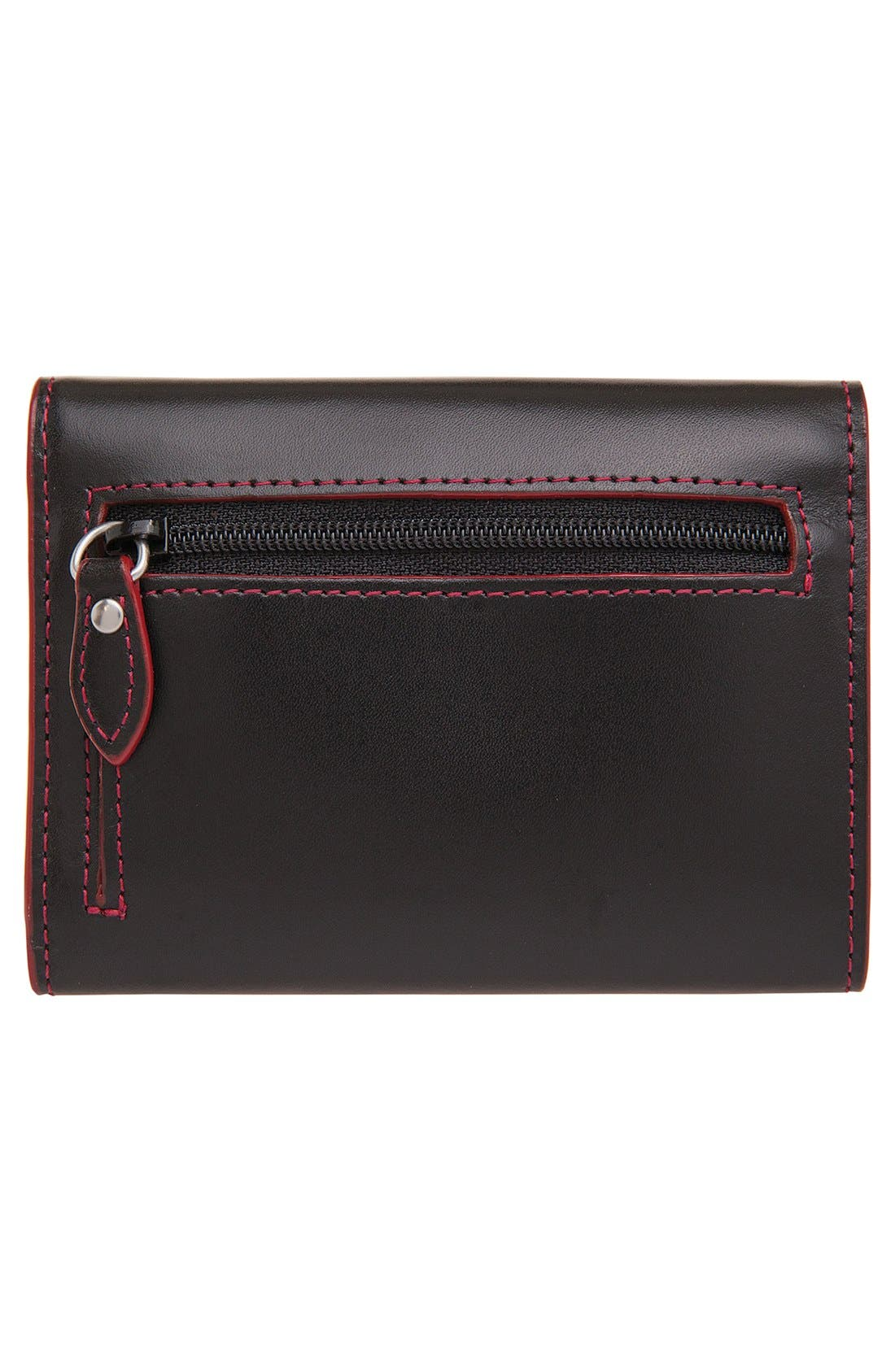 Lodis 'Audrey - Mallory' Leather French Wallet,                             Alternate thumbnail 2, color,                             001
