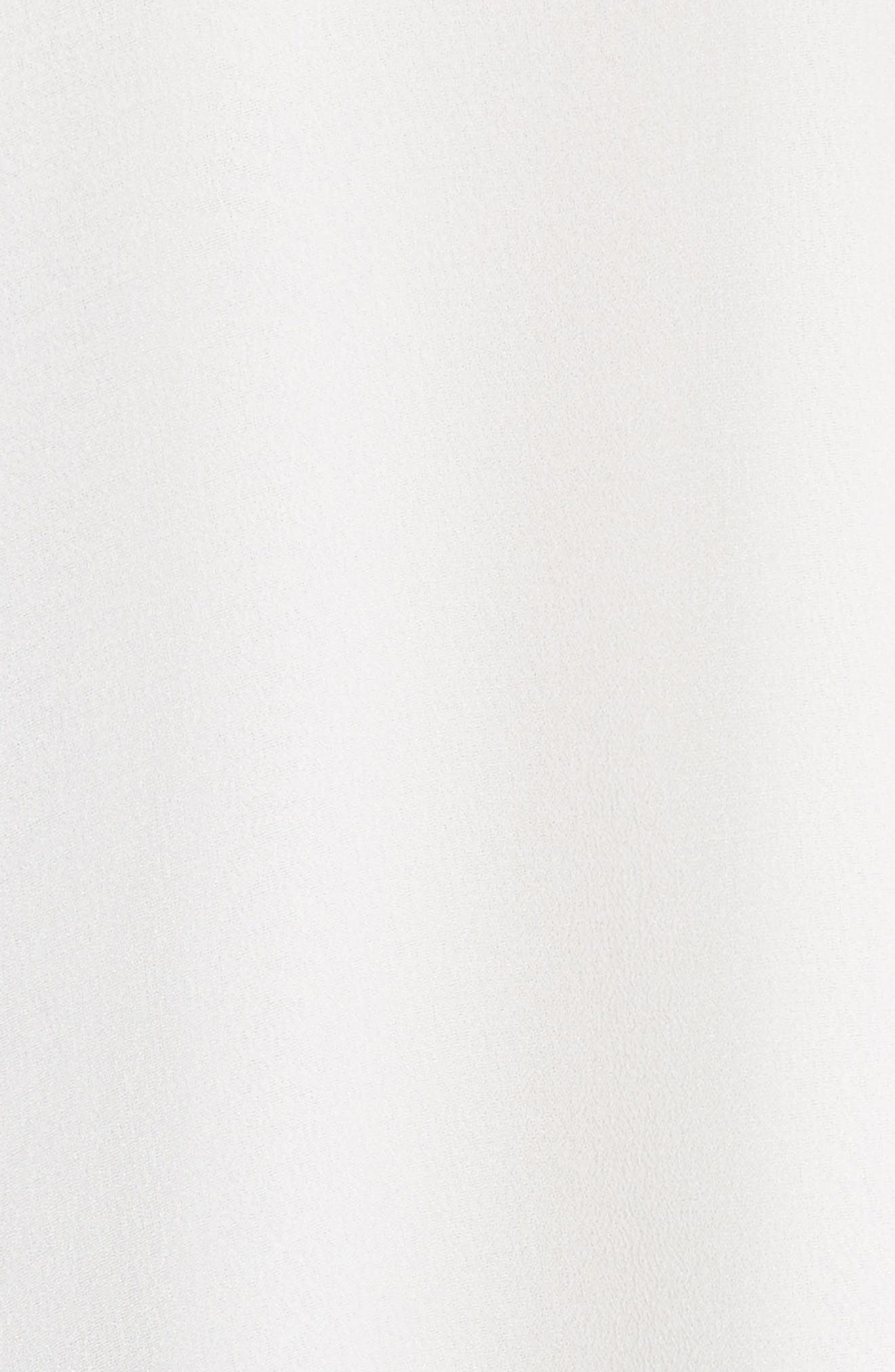 Blayne Cold Shoulder Silk Blouse,                             Alternate thumbnail 9, color,