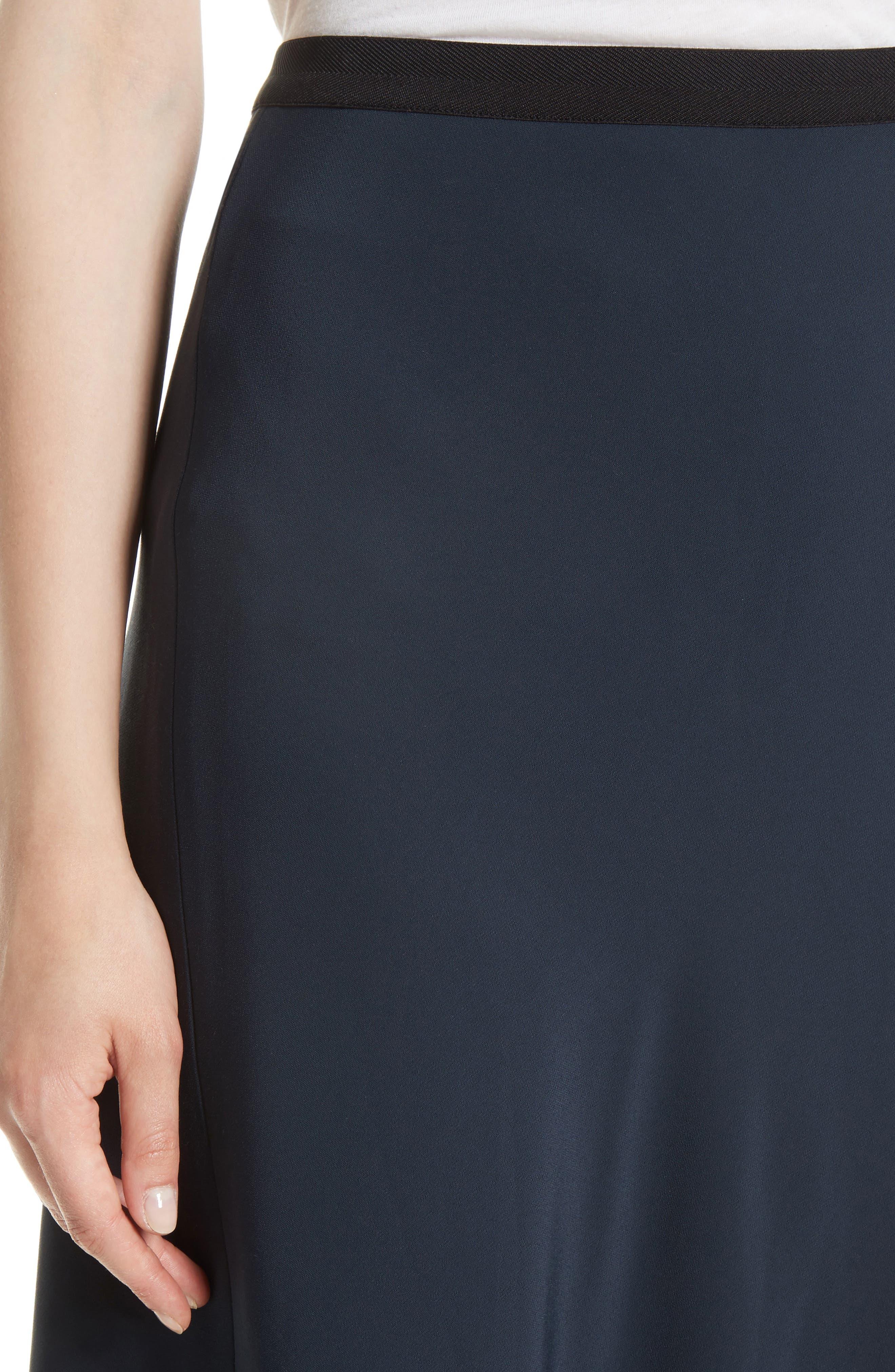 Elastic Waist Slip Skirt,                             Alternate thumbnail 4, color,                             403