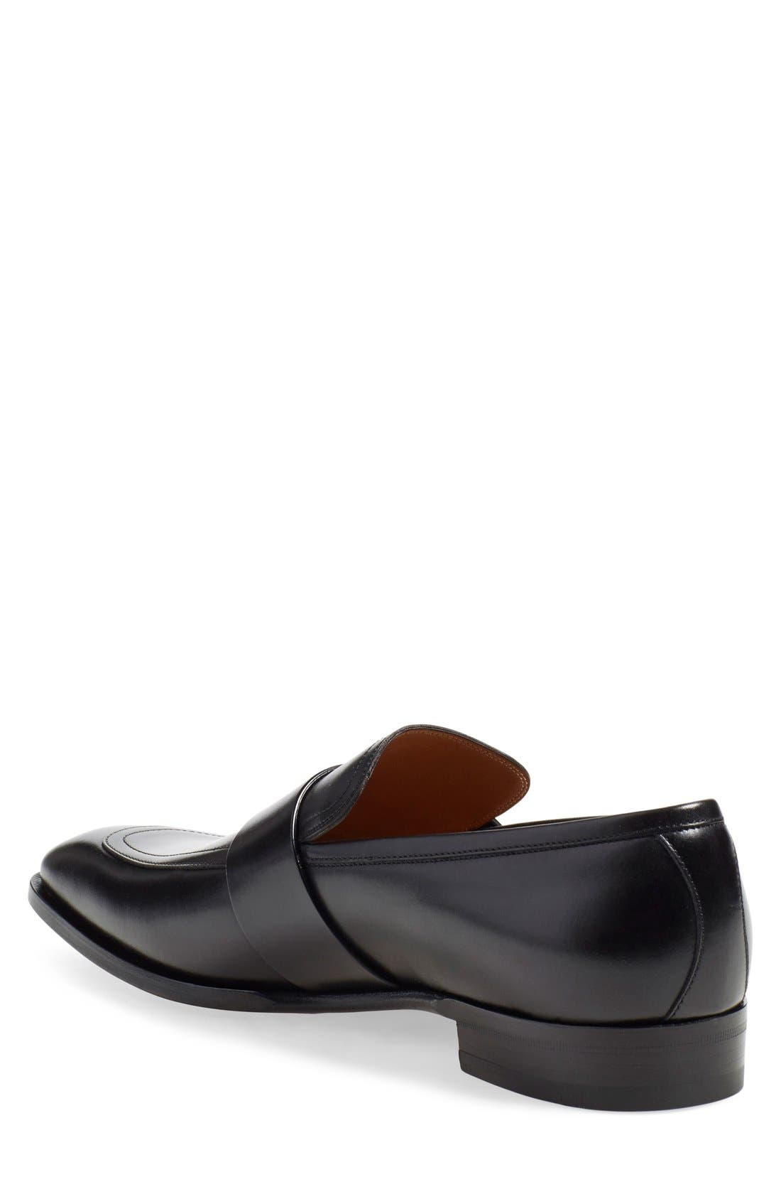 'Broadwick' Loafer,                             Alternate thumbnail 6, color,                             001