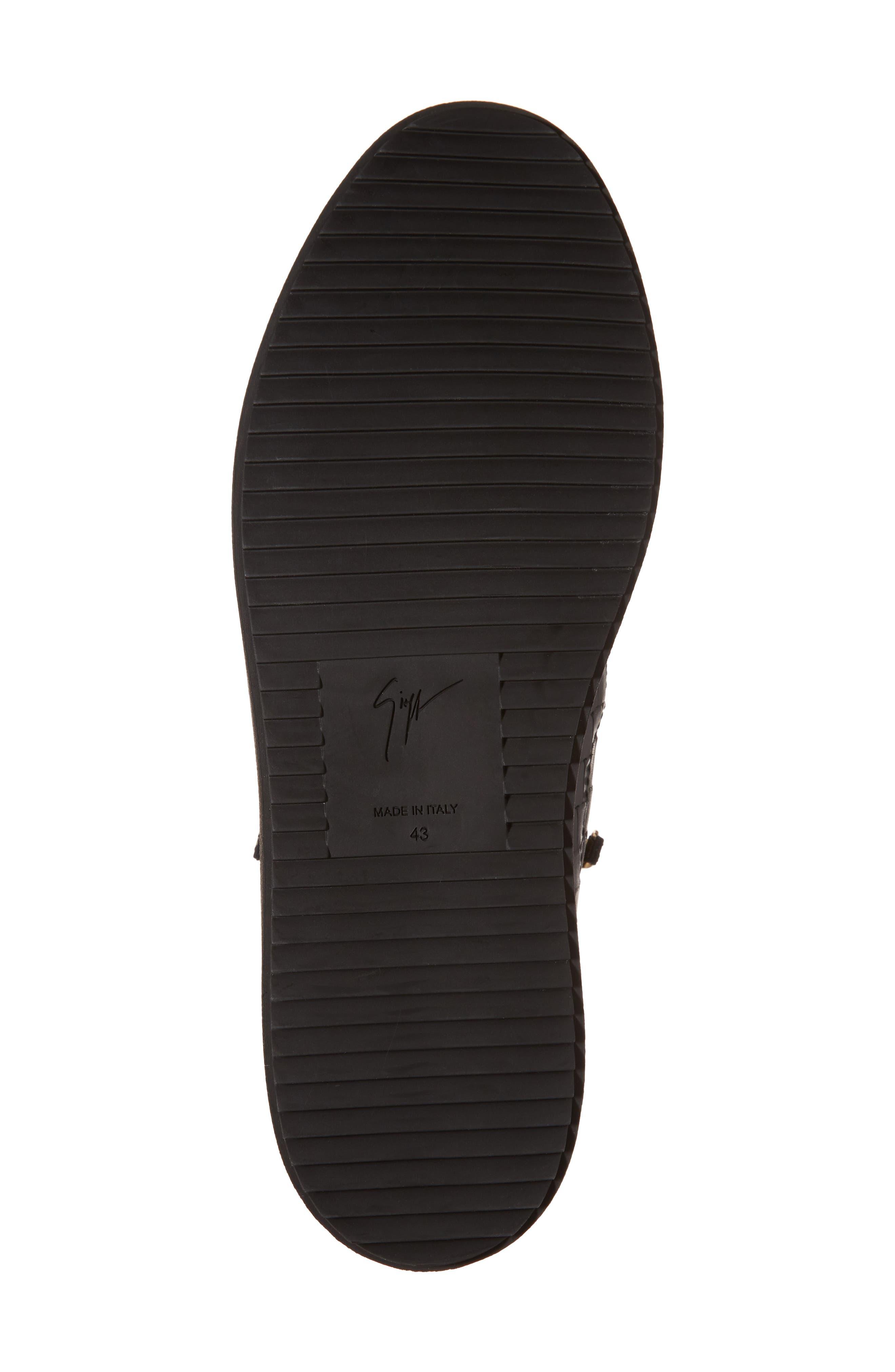 High-Top Sneaker,                             Alternate thumbnail 6, color,                             001