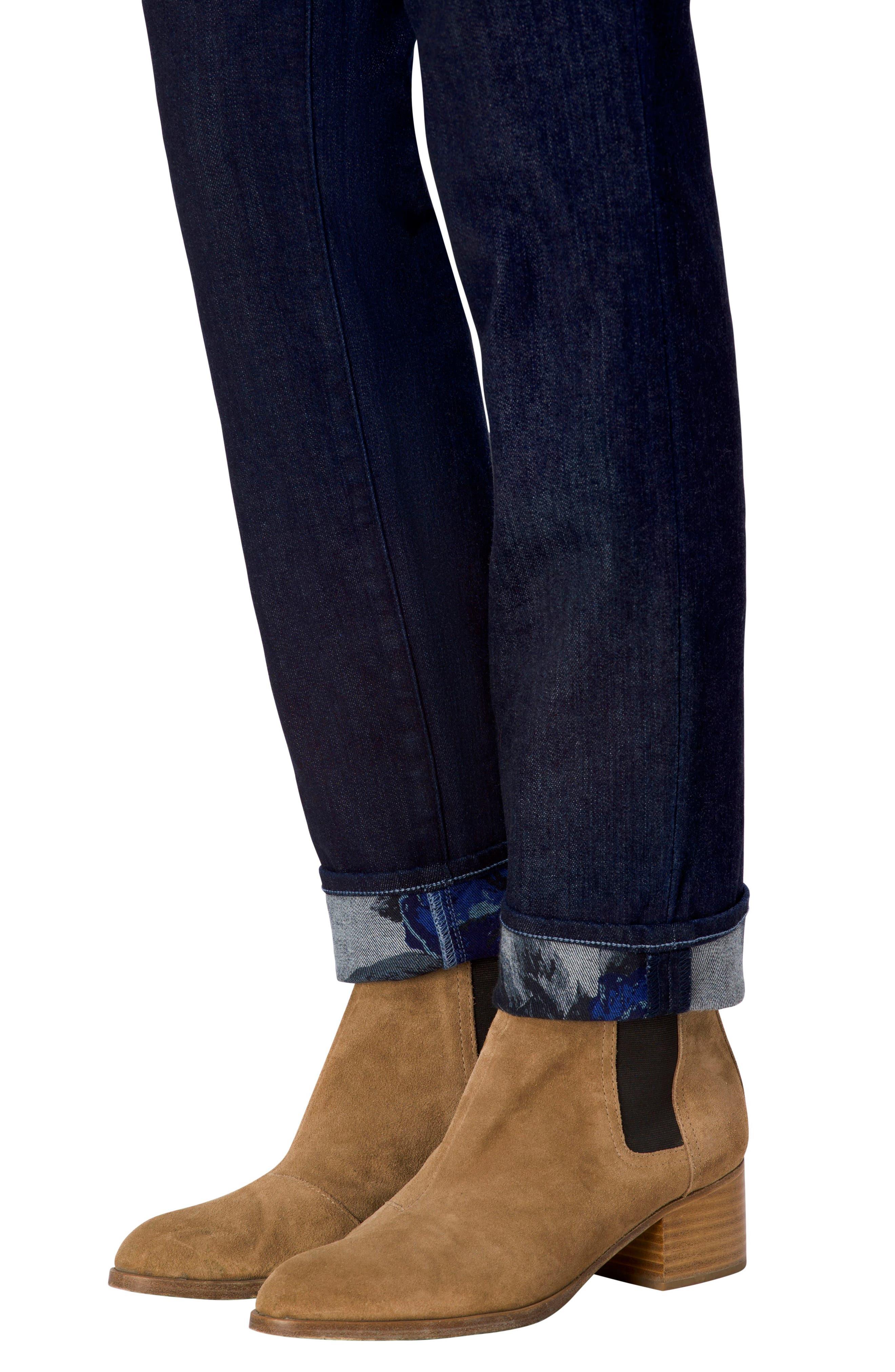 Maude Cigarette Leg Jeans,                             Alternate thumbnail 4, color,                             462