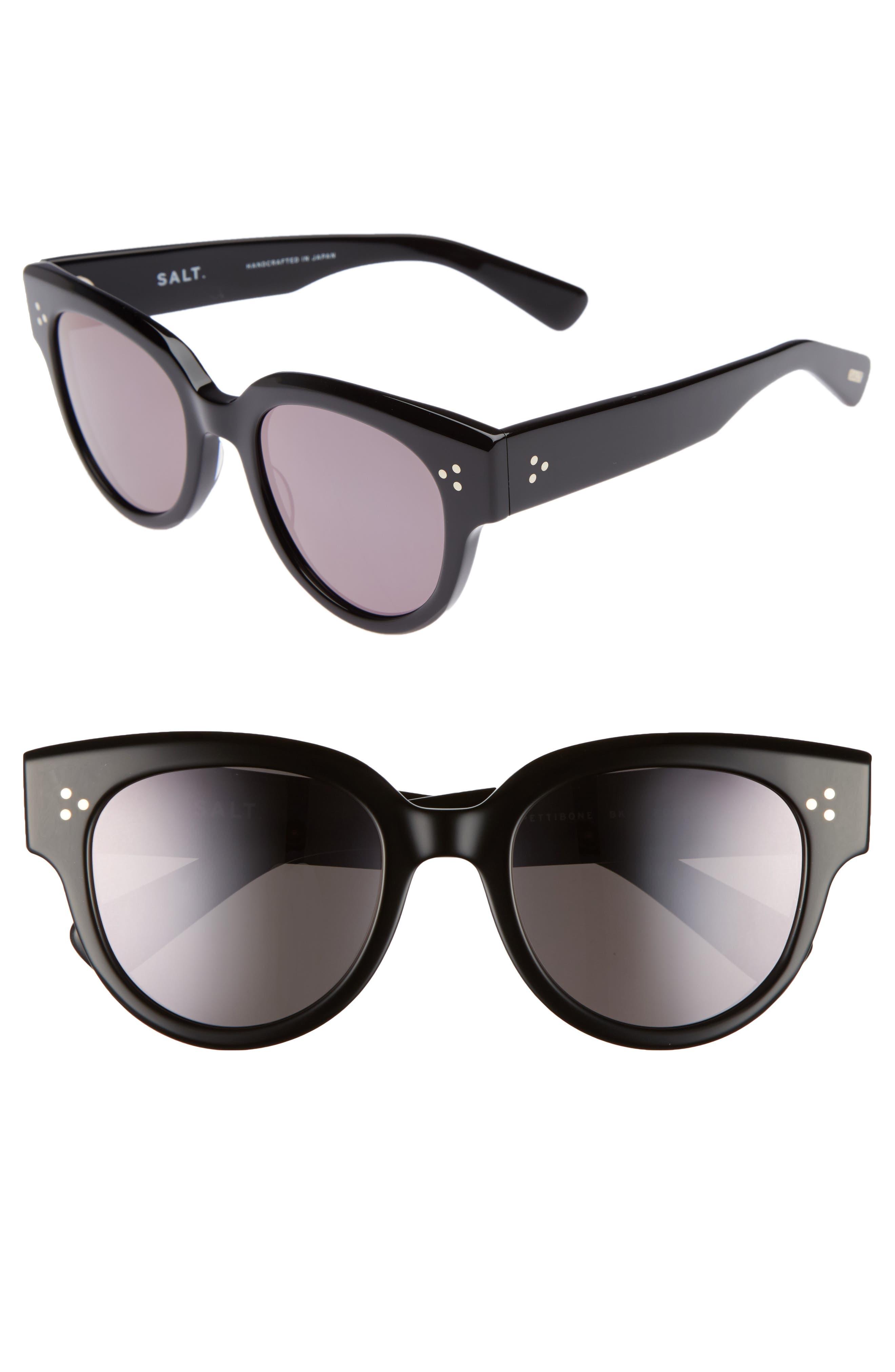 Pettibone 52mm Polarized Sunglasses,                             Main thumbnail 1, color,                             001