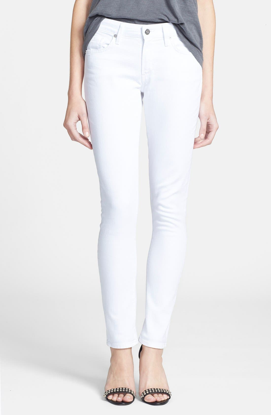 'Arielle' Skinny Jeans,                             Main thumbnail 1, color,                             100
