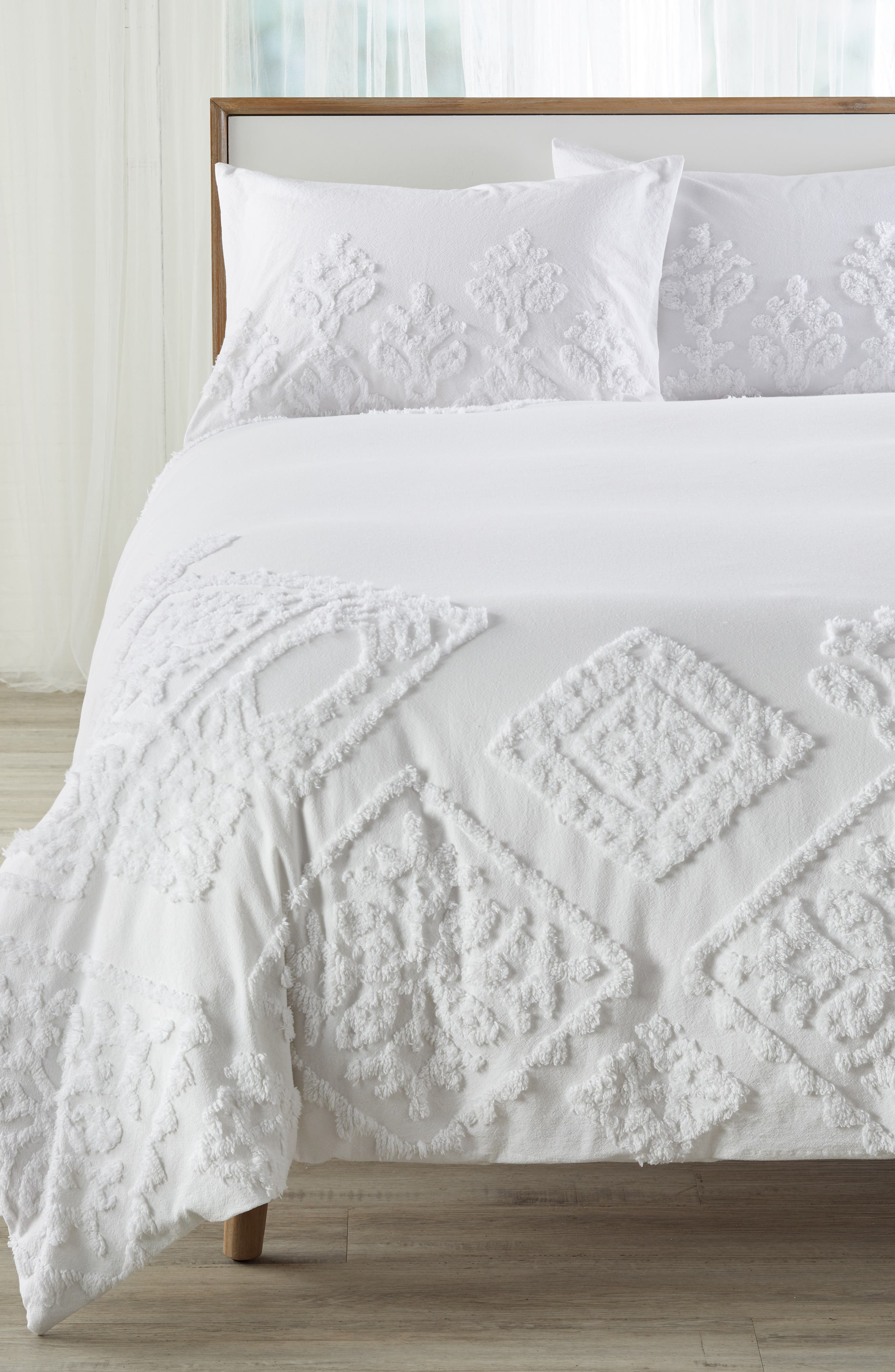 Helena Duvet Cover,                             Main thumbnail 1, color,                             100